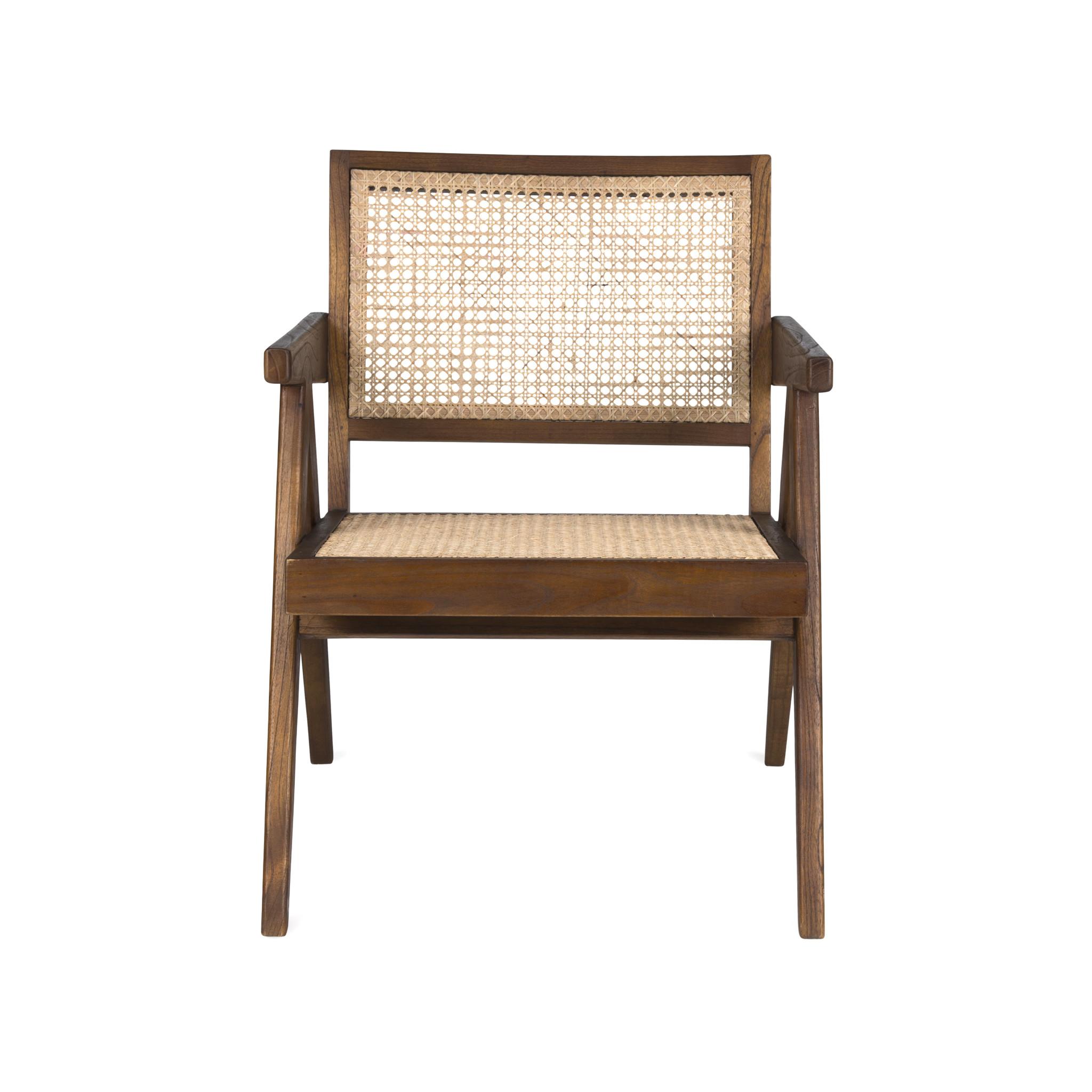 Easy Lounge Chair - Darkened Teak-2
