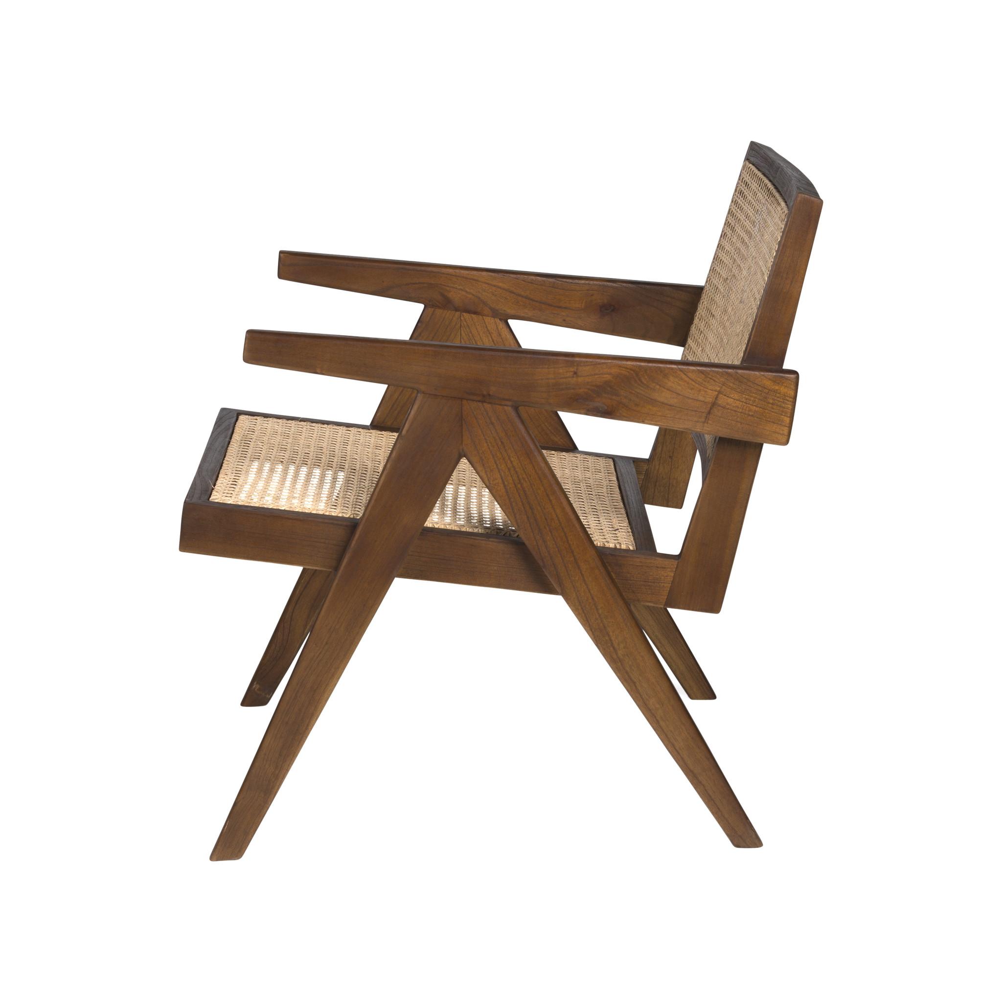 Easy Lounge Chair - Darkened Teak-3
