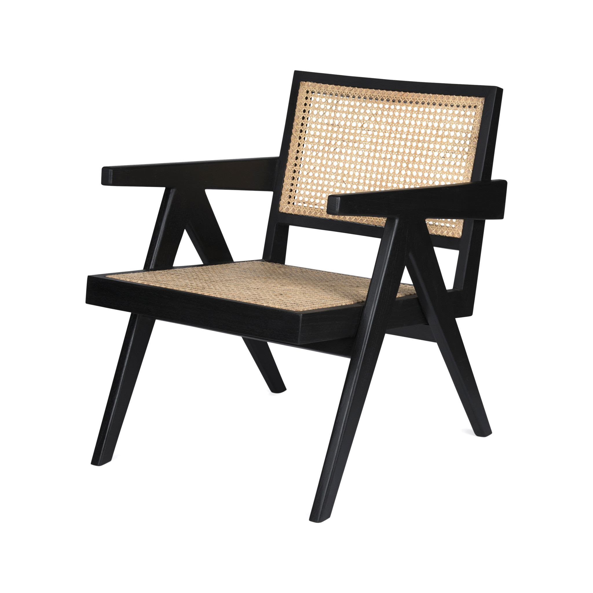 Easy Lounge Chair - Charcoal Black-1