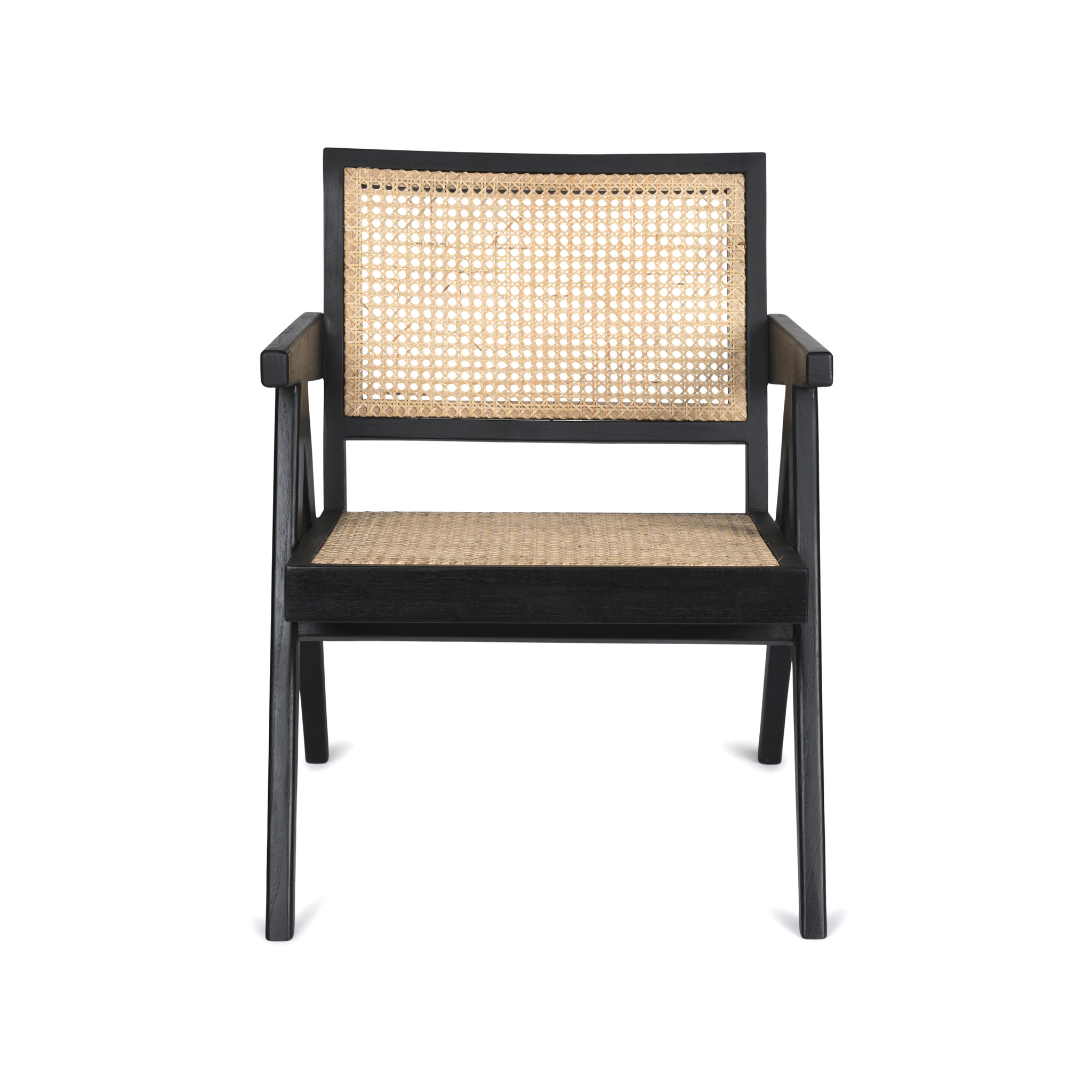 Easy Lounge Chair - Charcoal Black-3