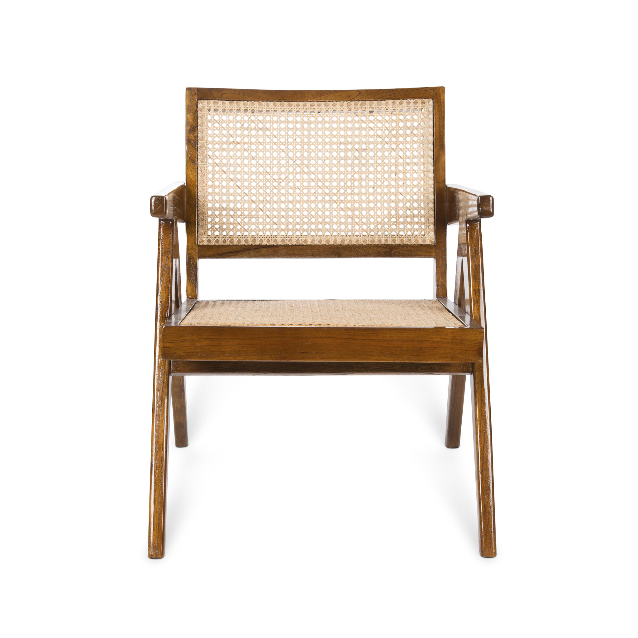 Easy Lounge Chair - Verdunkeltes Teakholz Hochglanz-3