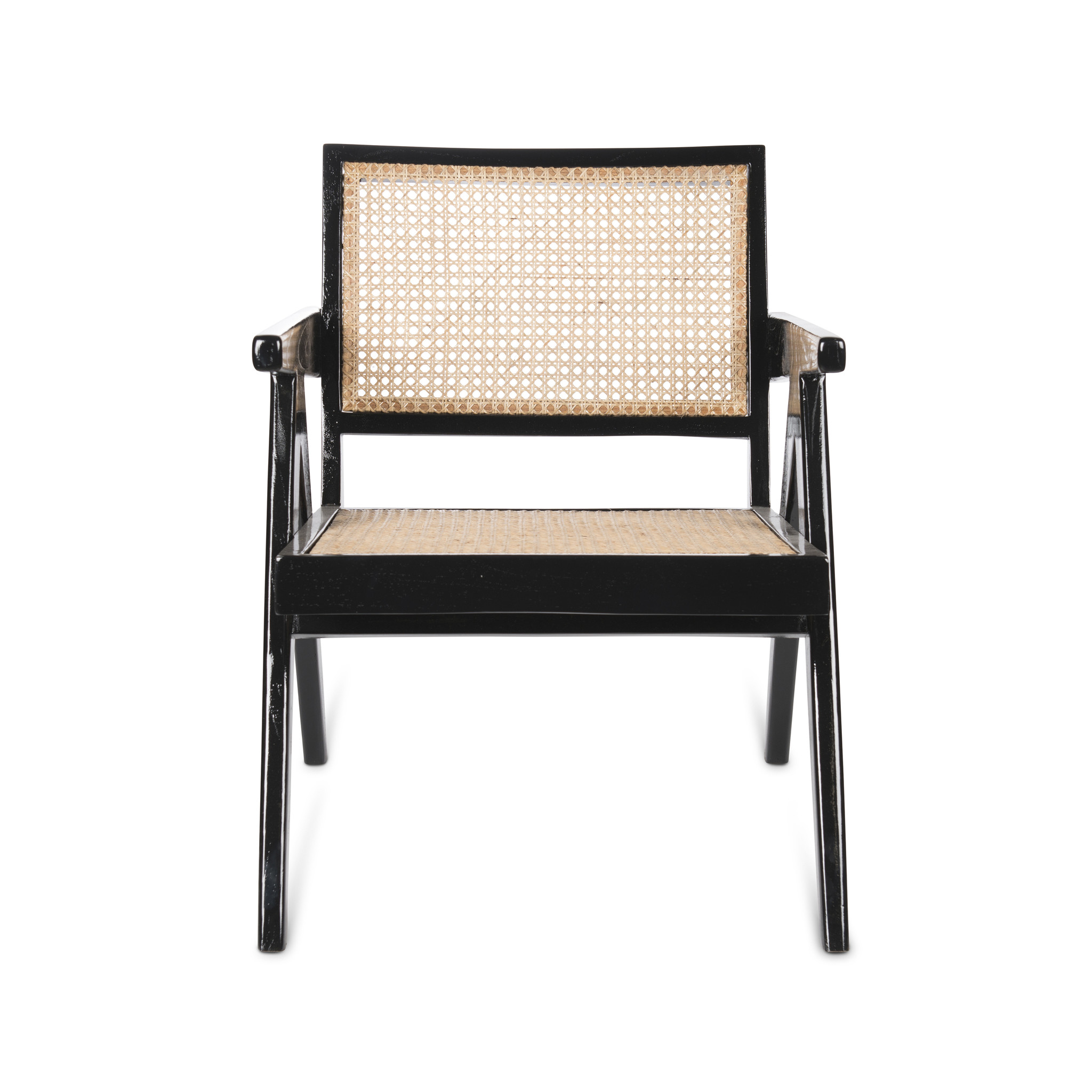 Easy Lounge Chair - Charcoal Black High Gloss-2