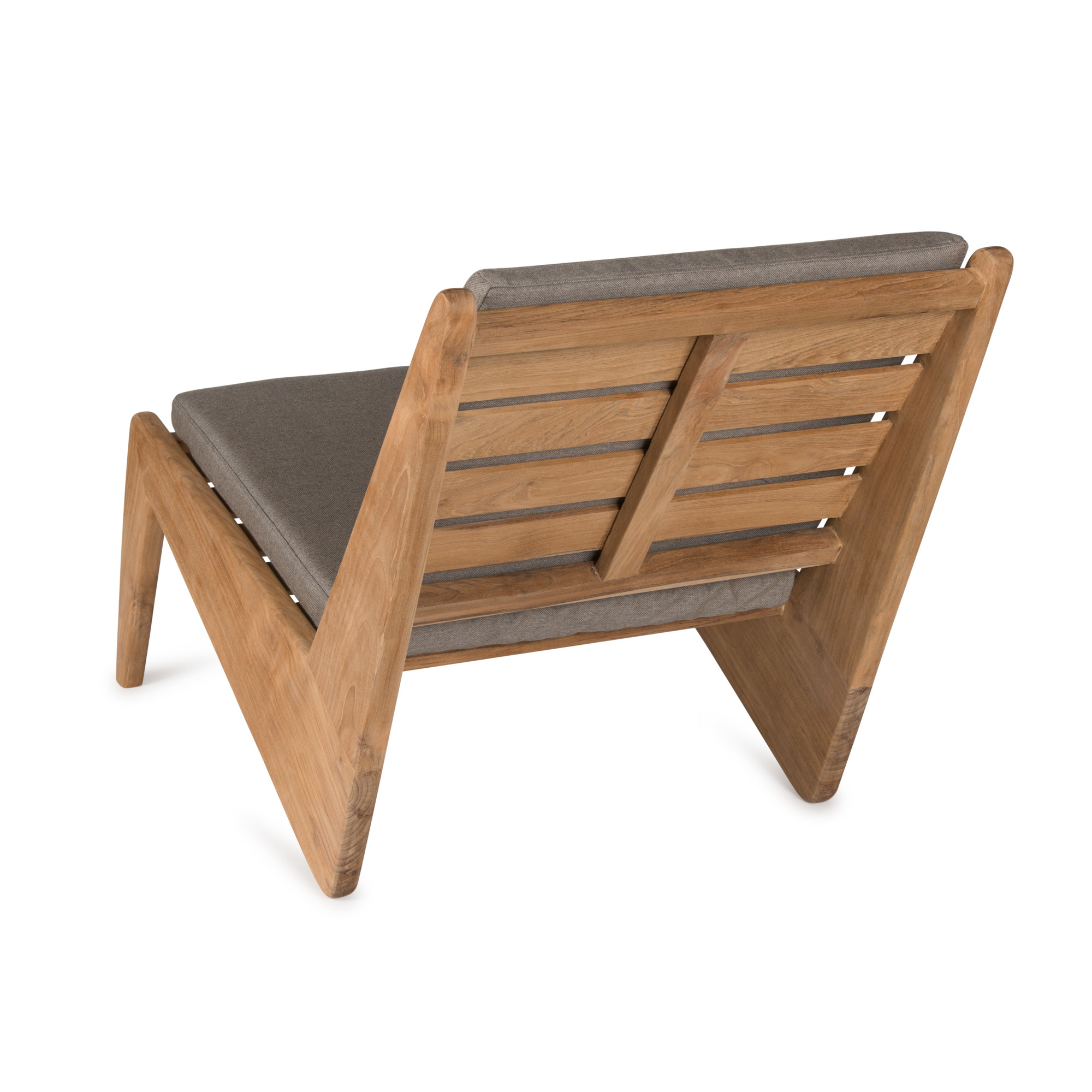 Kangaroo Chair - Teak Outdoor with Cushion-4