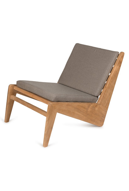 Kangaroo Chair - Teak Outdoor with Cushion