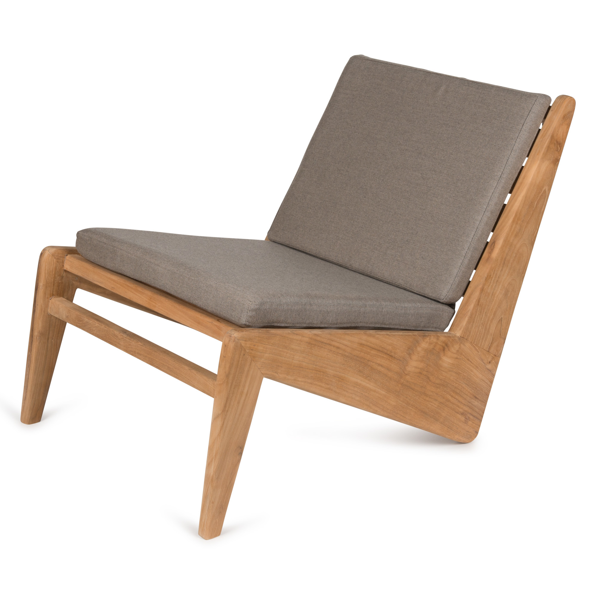 Kangaroo Chair - Teak Outdoor with Cushion-1