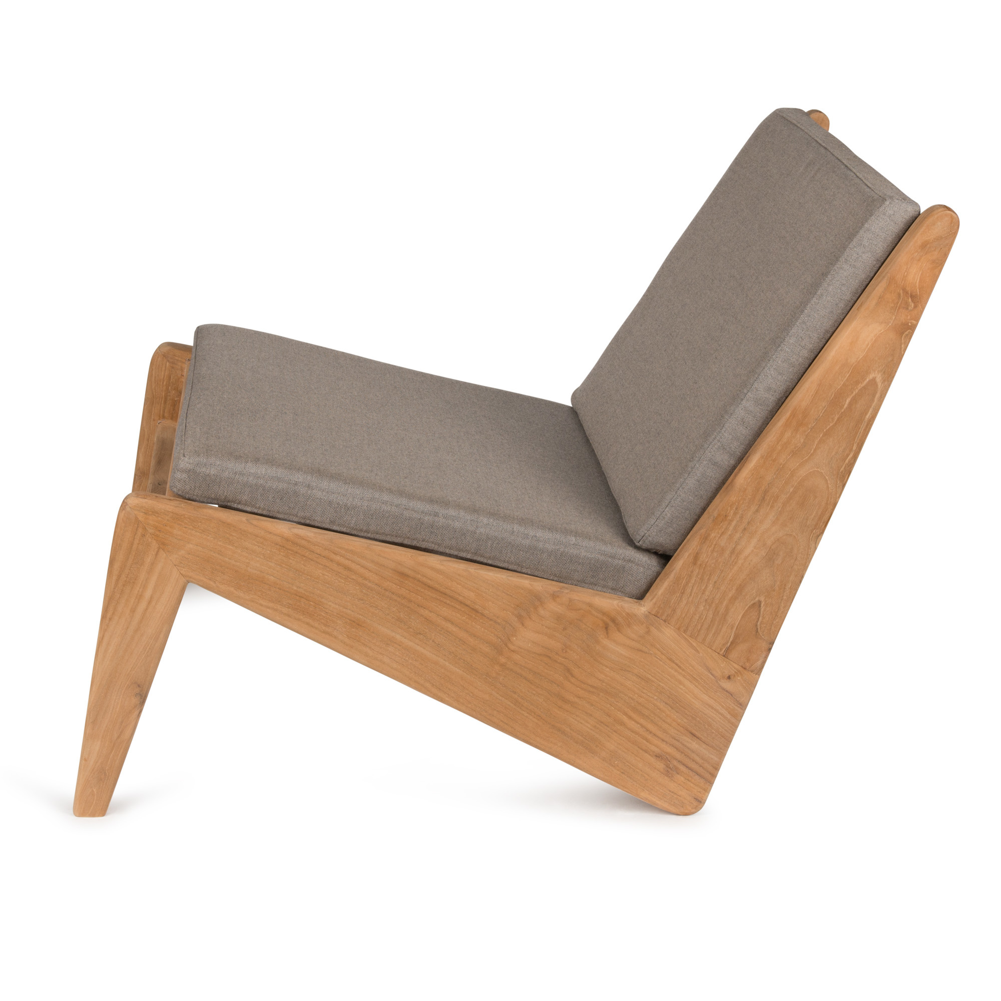 Kangaroo Chair - Teak Outdoor with Cushion-2