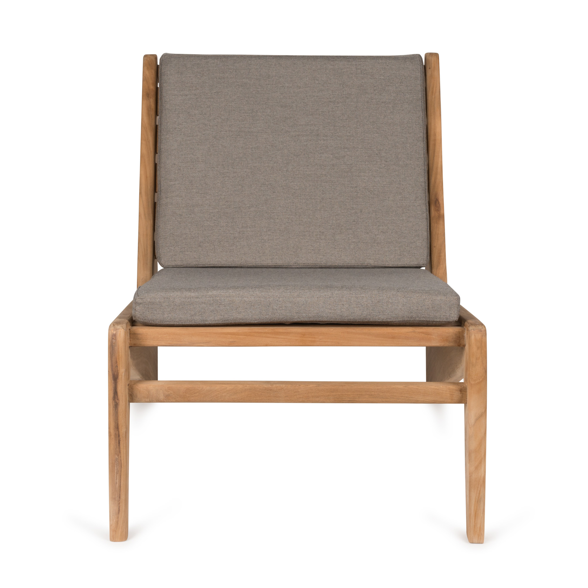 Kangaroo Chair - Teak Outdoor with Cushion-3