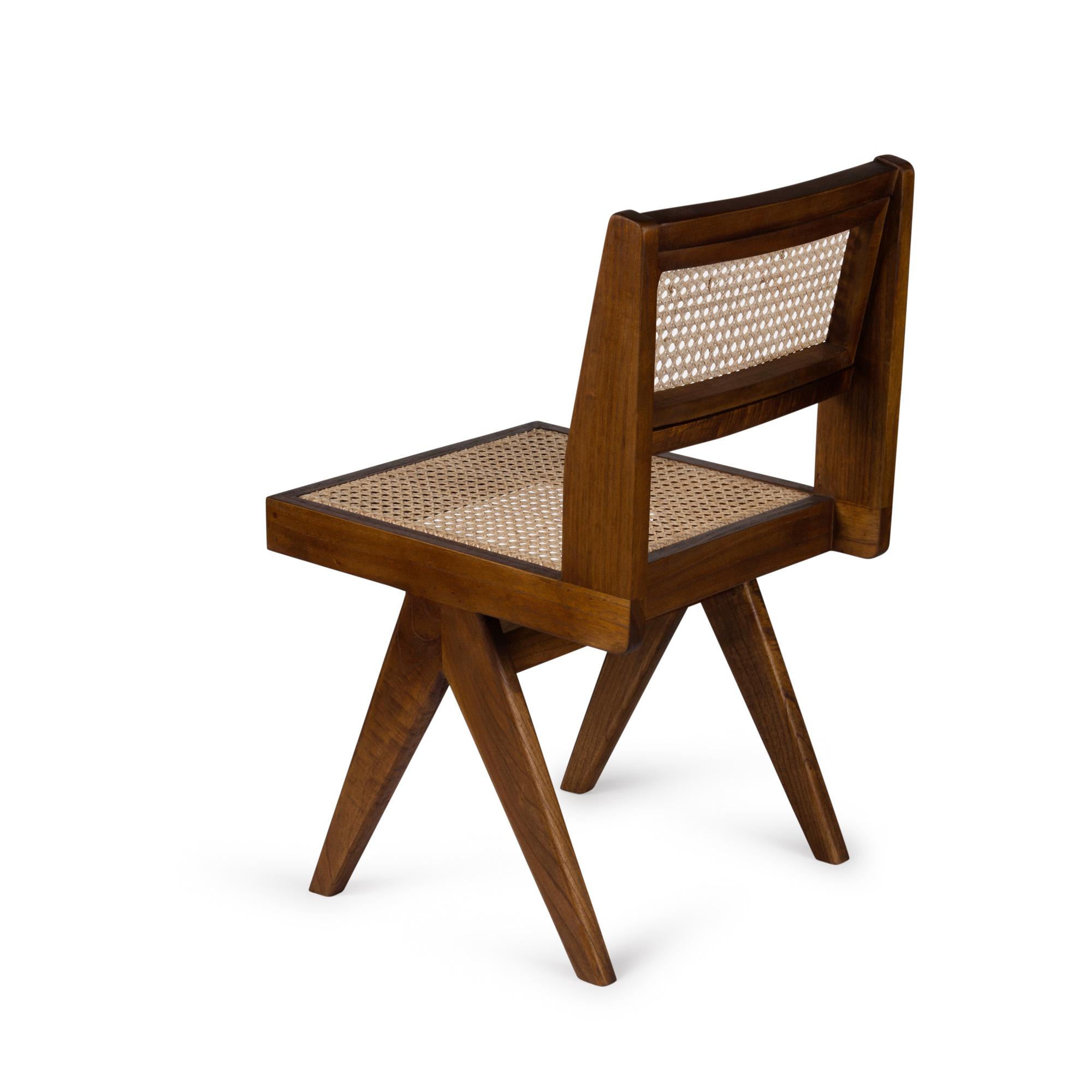 Dining Chair - Darkened Teak-4