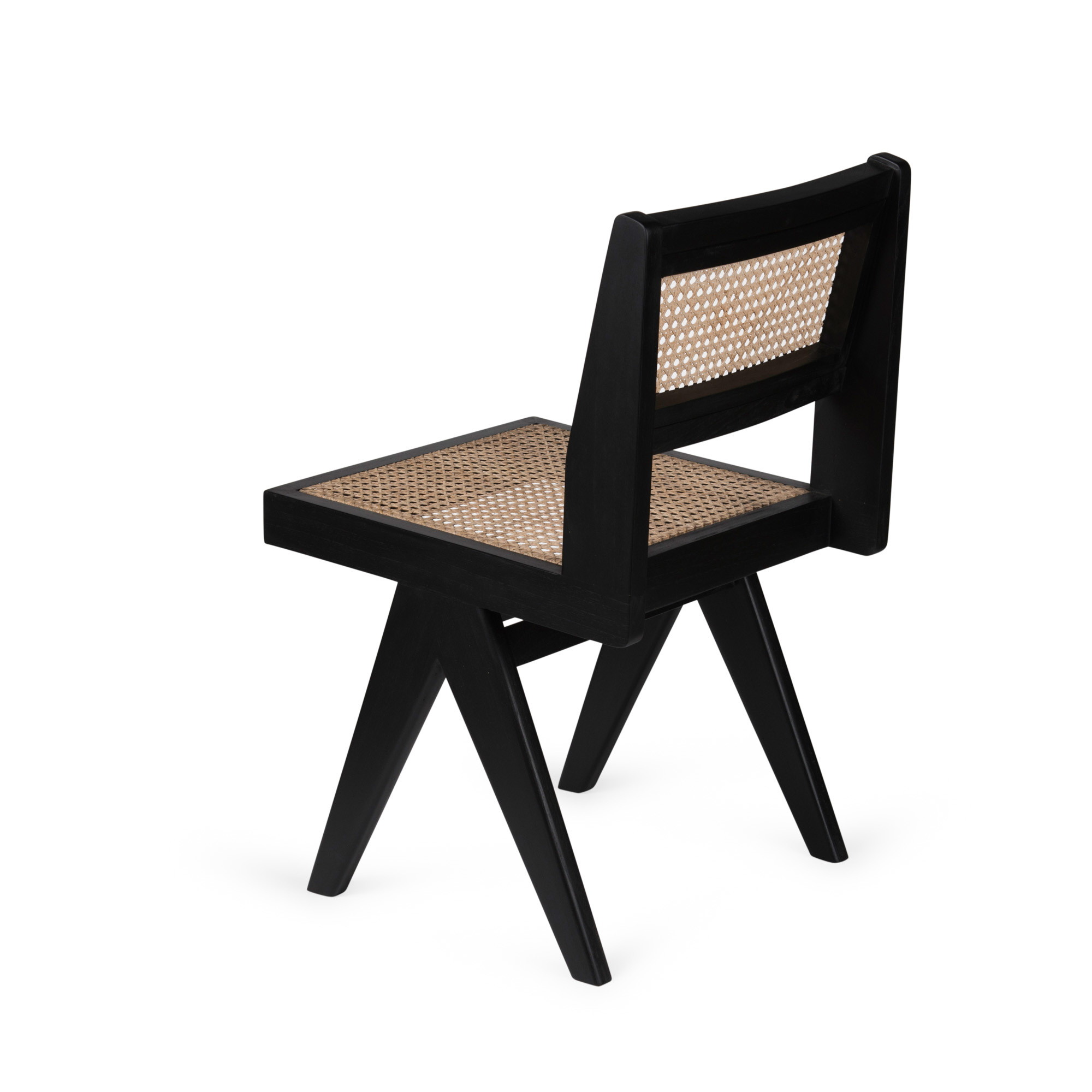 Dining Chair - Charcoal Black-2