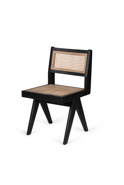 Dining Chair - Kohle schwarz