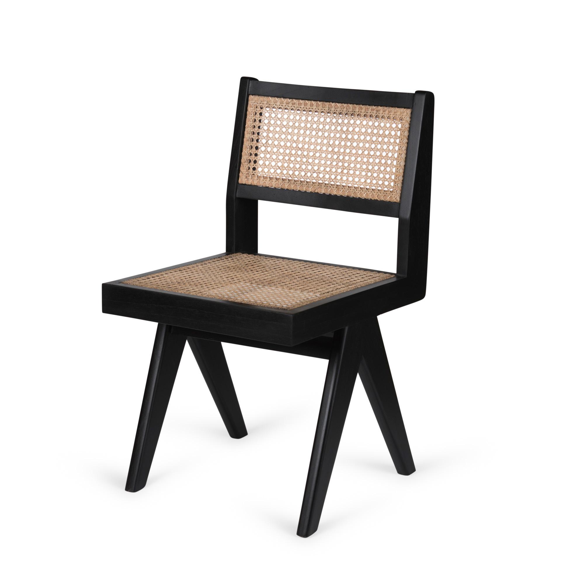 Dining Chair - Kohle schwarz-1