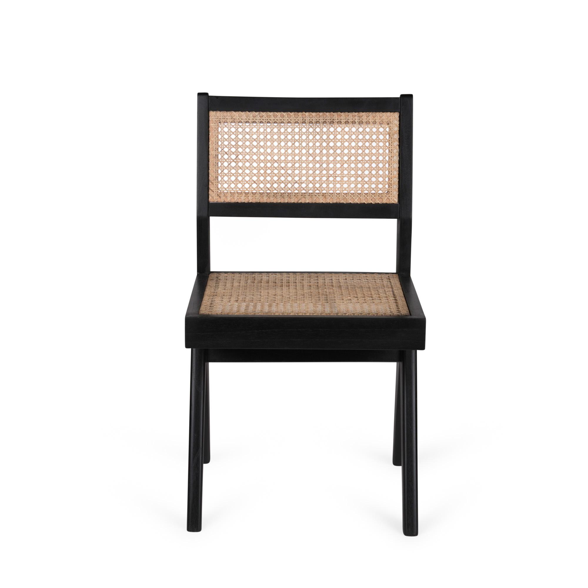 Dining Chair - Kohle schwarz-3