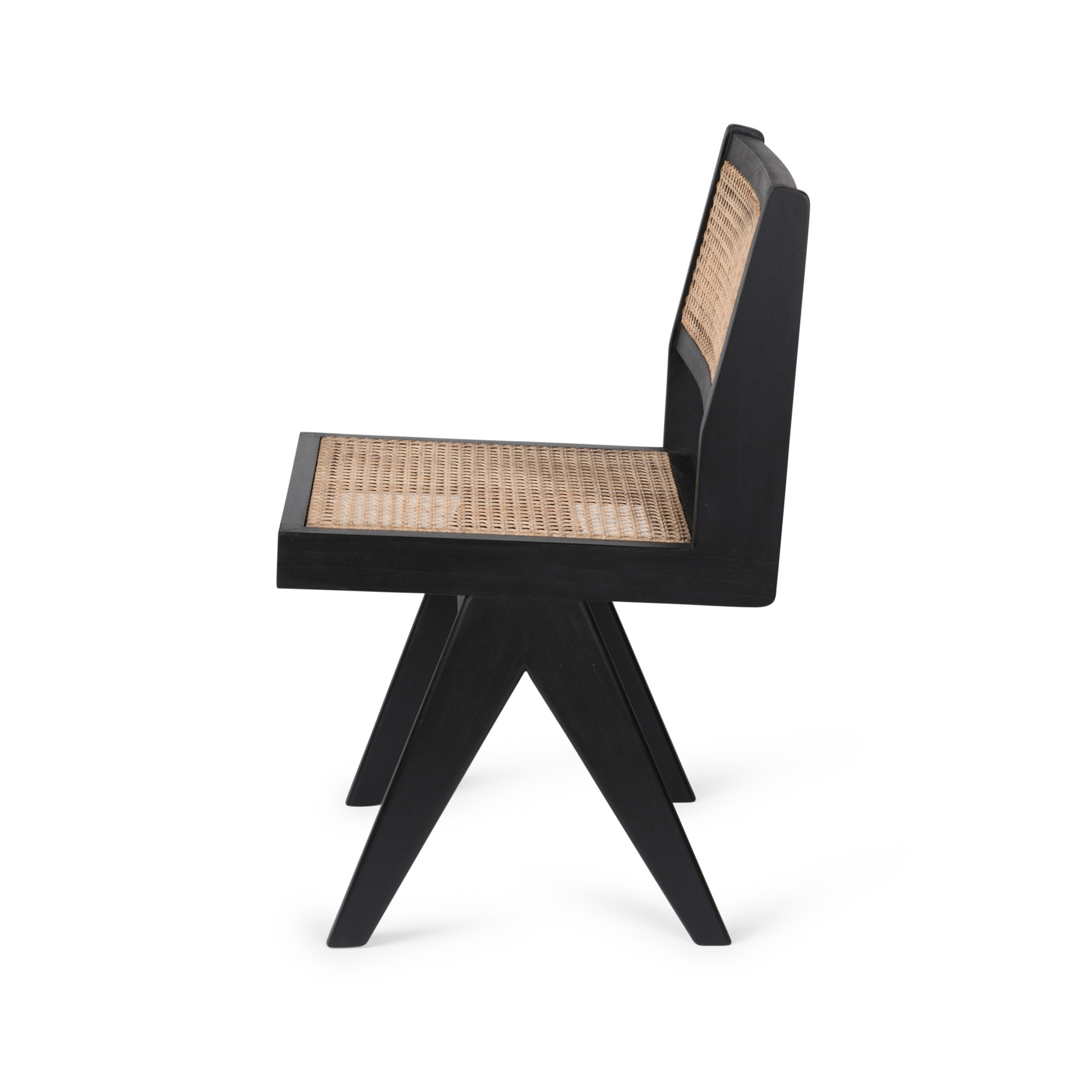 Dining Chair - Charcoal Black-4