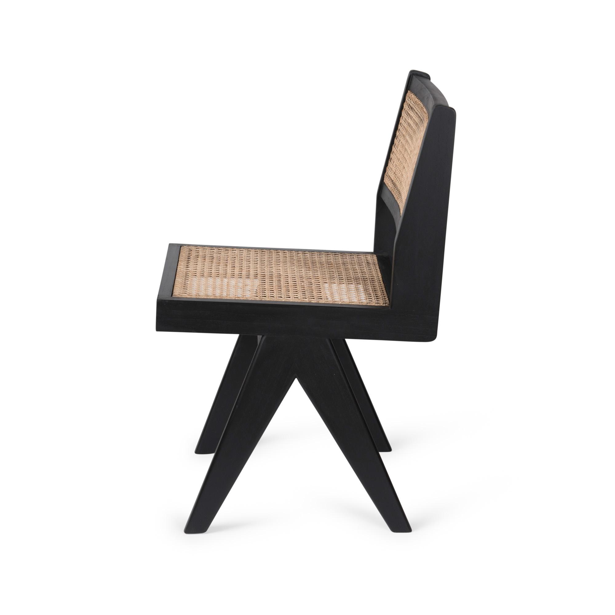Dining Chair - Kohle schwarz-4