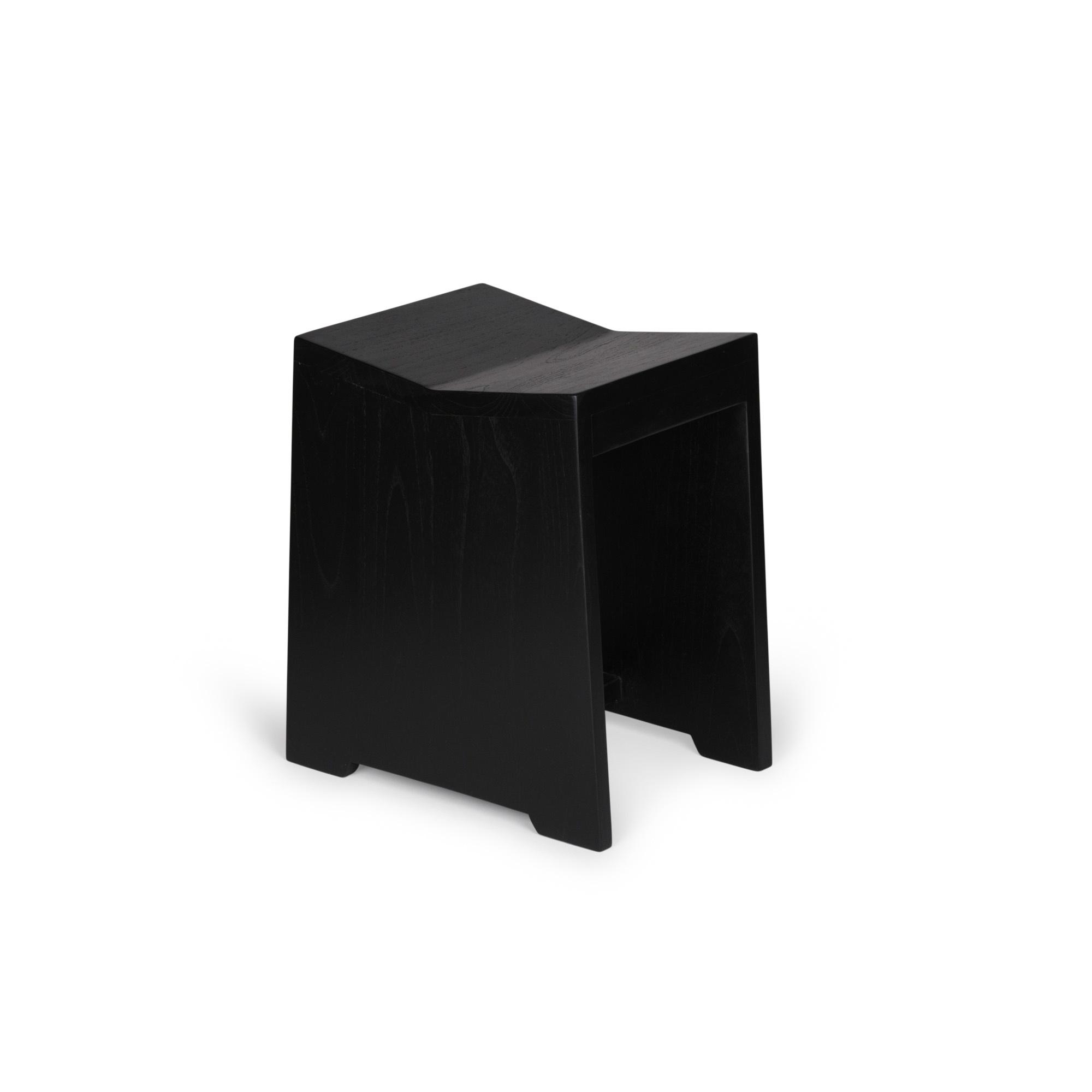 Stool / J.T.H. Flats - Chacoal Black-1