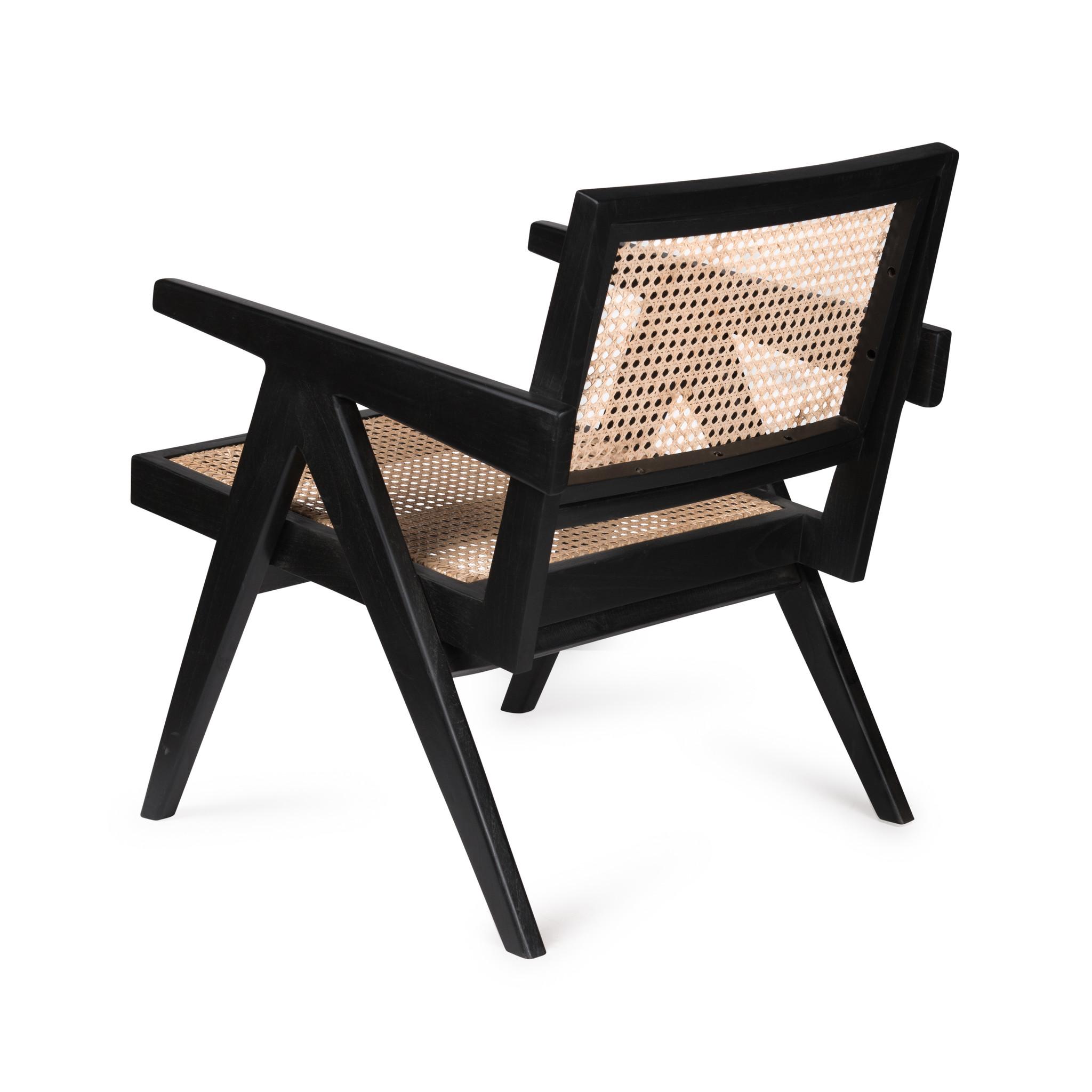 Easy Lounge Chair - Charcoal Black High Gloss-4