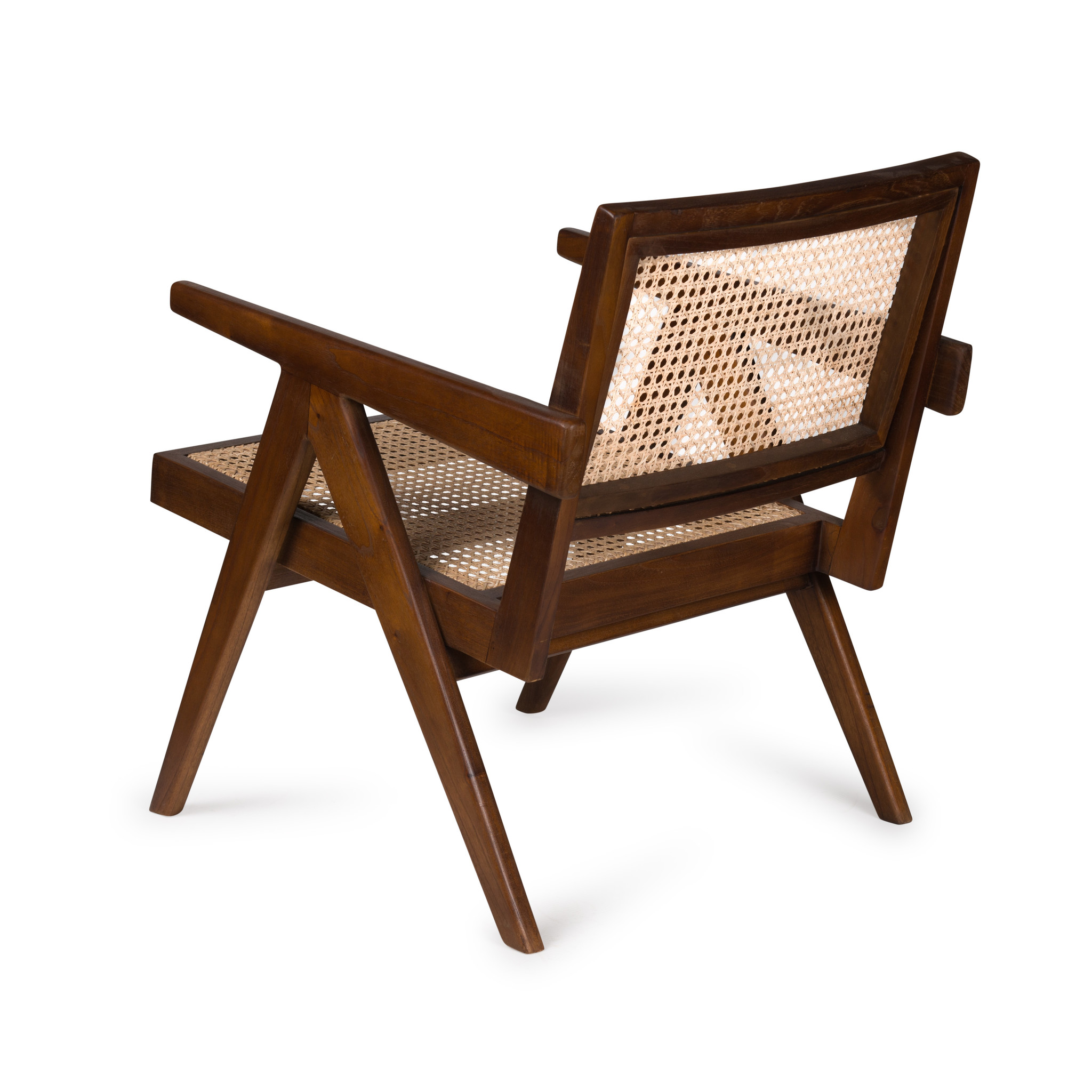 Easy Lounge Chair - Verdunkeltes Teakholz Hochglanz-4