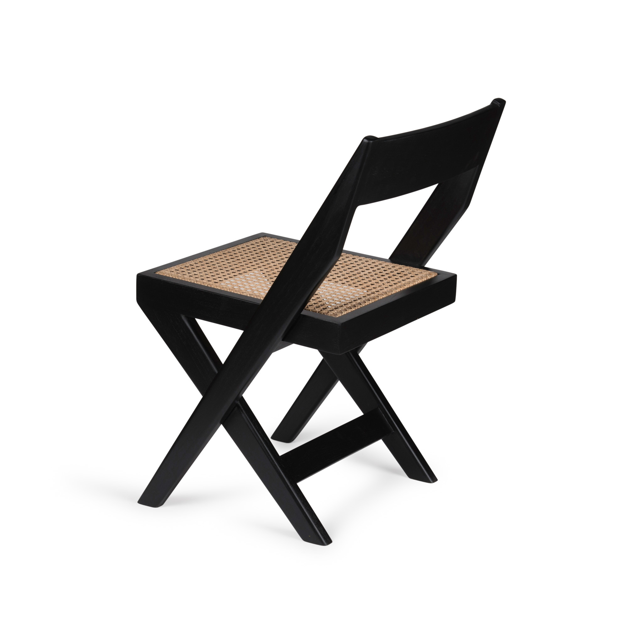 Library Chair - Charcoal Black-2