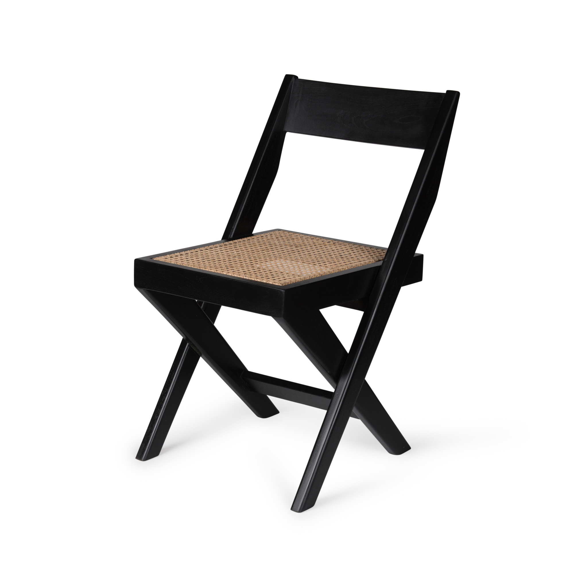 Library Chair - Charcoal Black-1