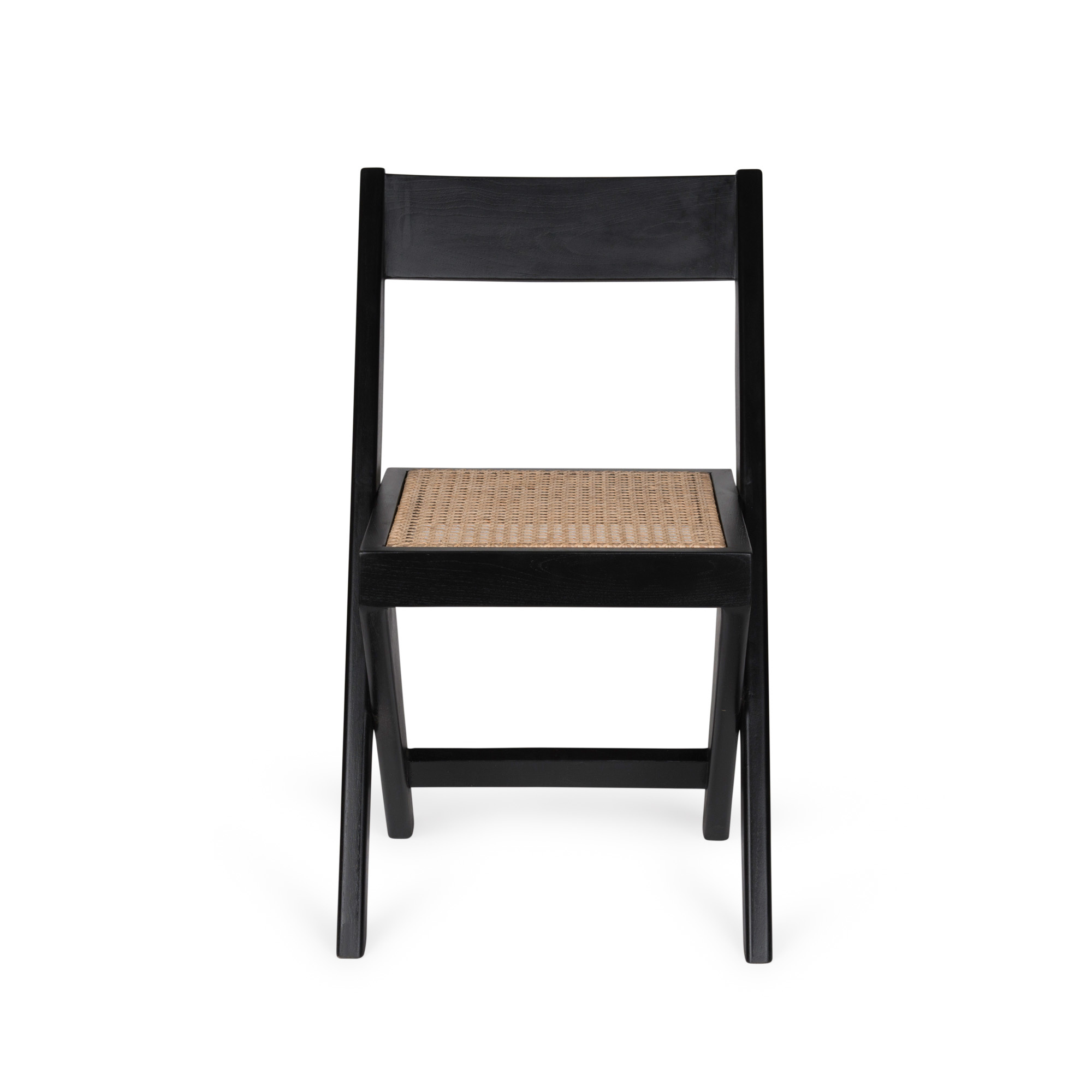 Library Chair - Charcoal Black-3