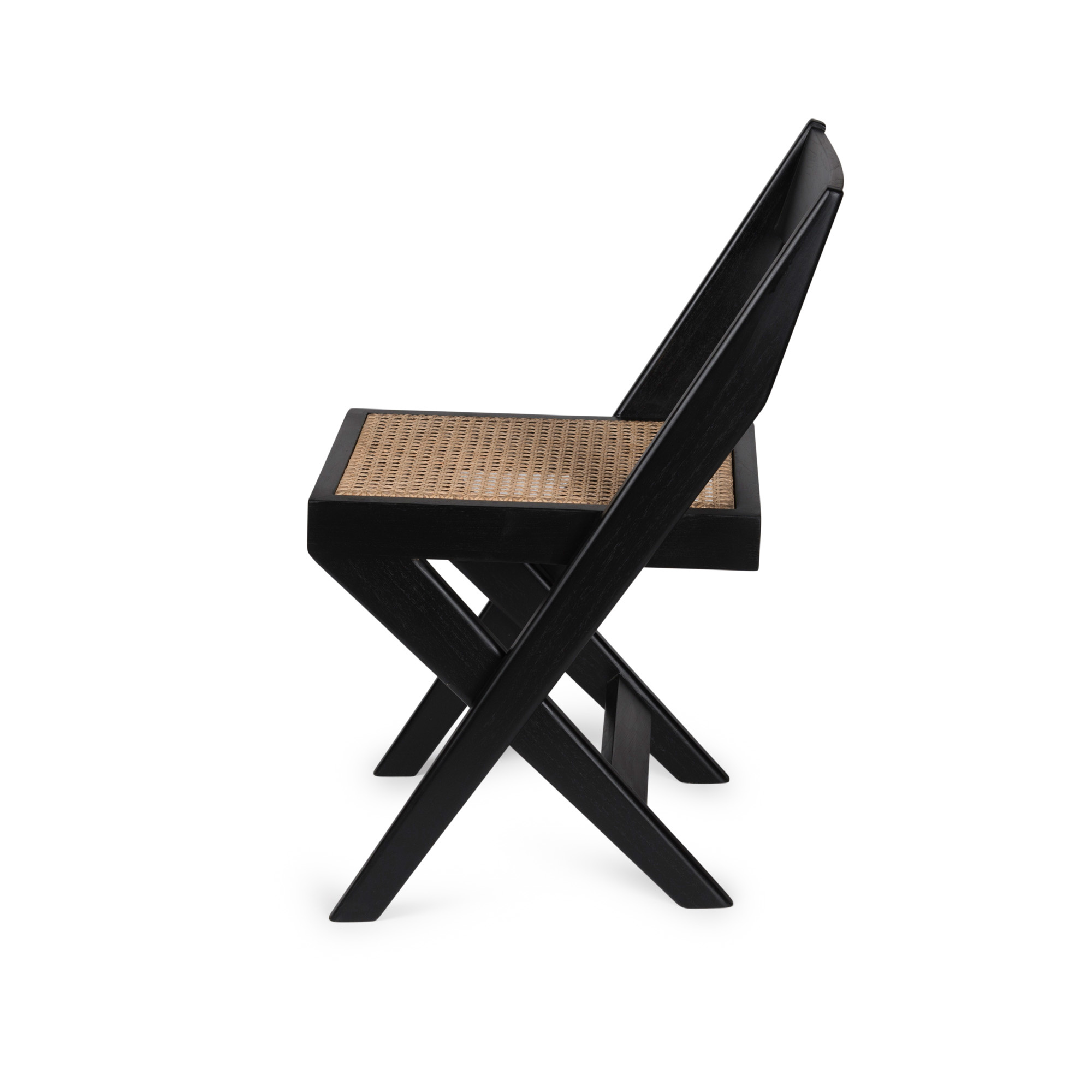 Library Chair - Charcoal Black-4