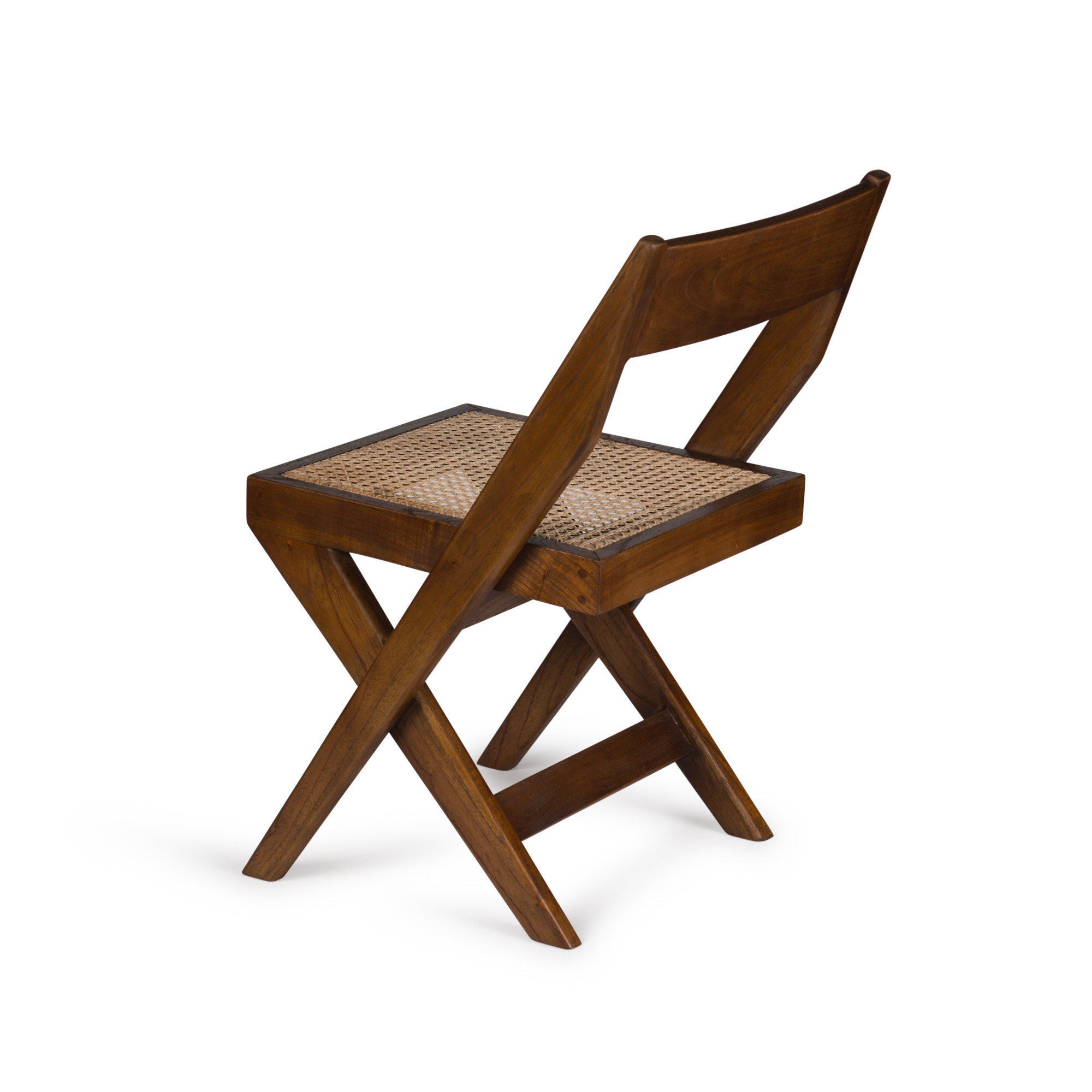 Library Chair - Darkened Teak-2