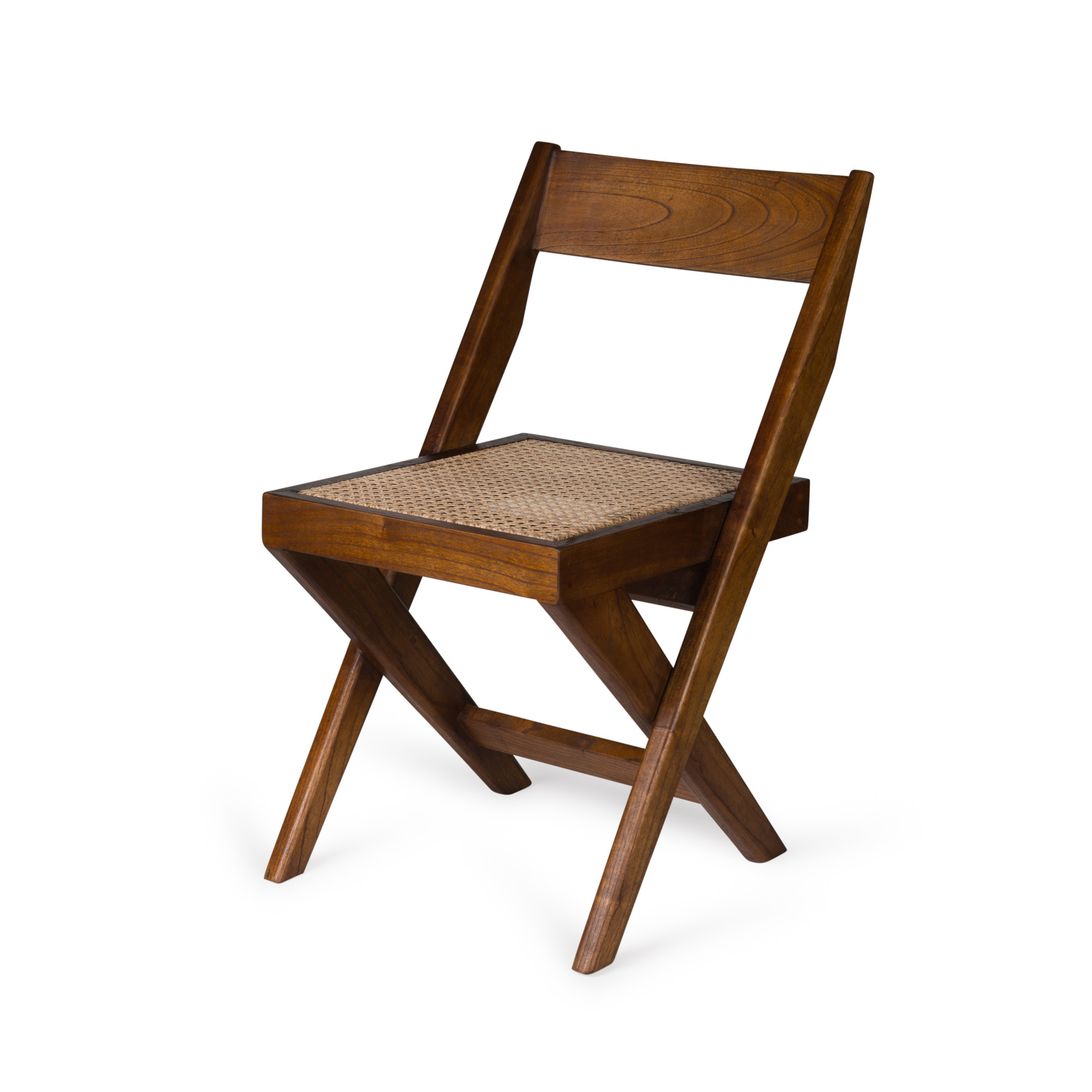 Library Chair - Darkened Teak-1