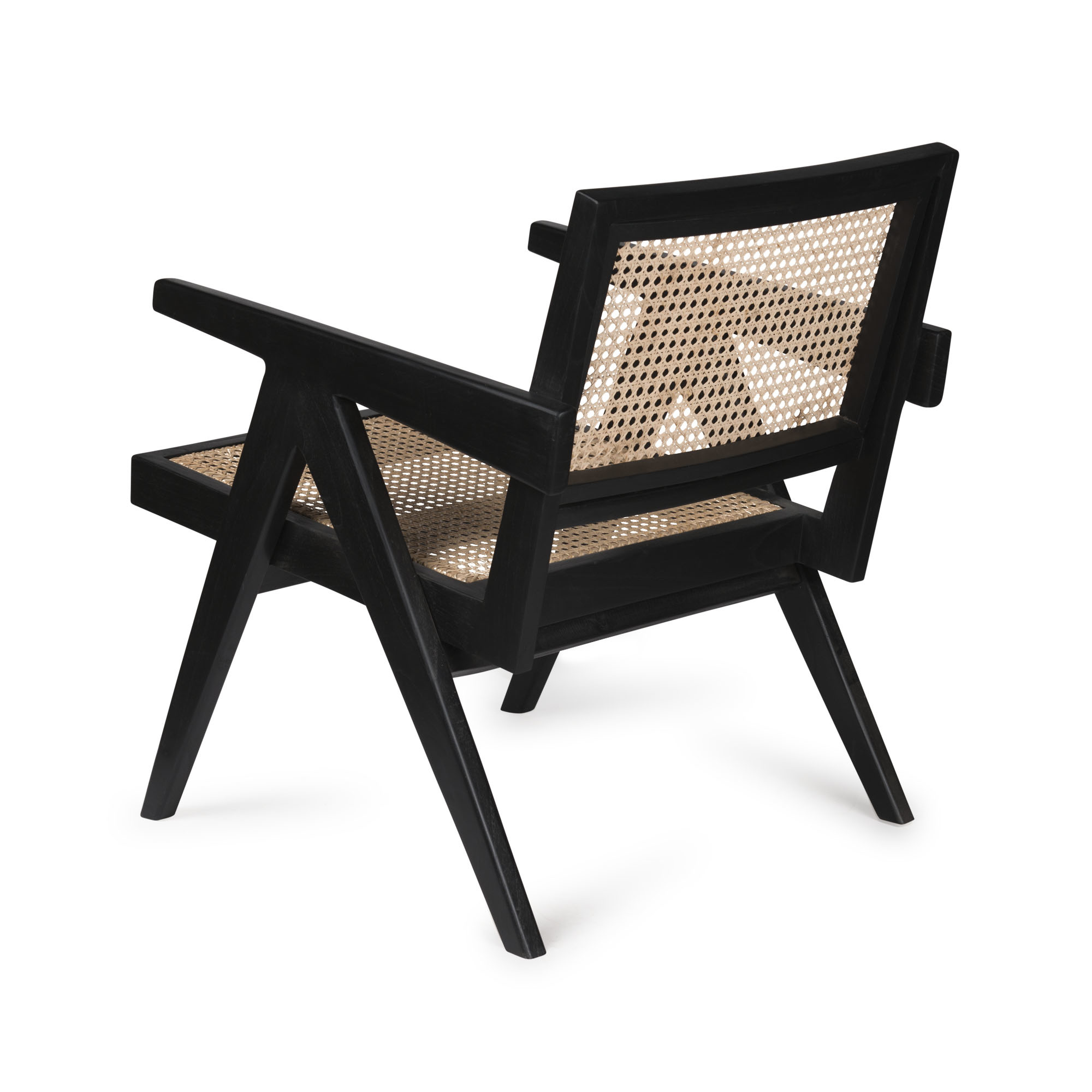 Easy Lounge Chair - Charcoal Black-4