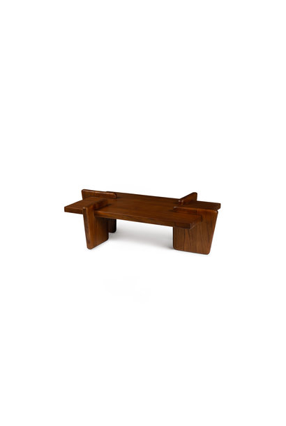 Coffee table S.T.H. M  Darkened Teak