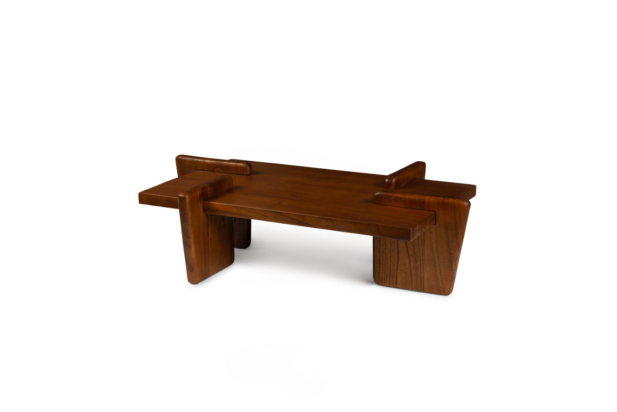 Coffee table S.T.H. M  Darkened Teak-2