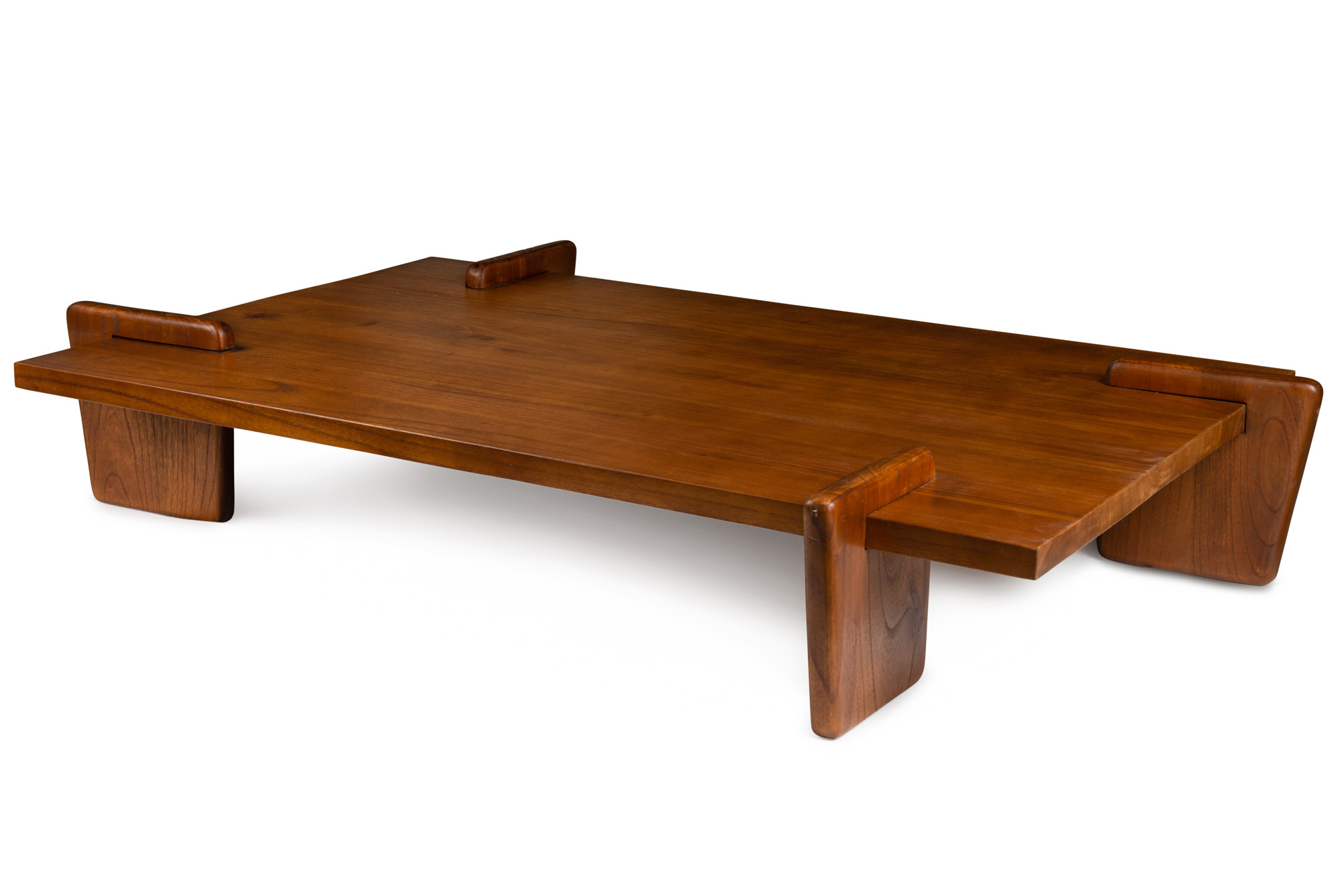 Coffee table S.T.H. XL  Verdunkeltes Teakholz-2