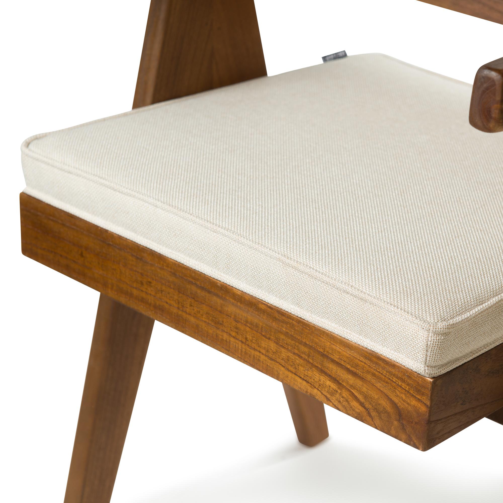 Dining Chair Cushion - Creme-1