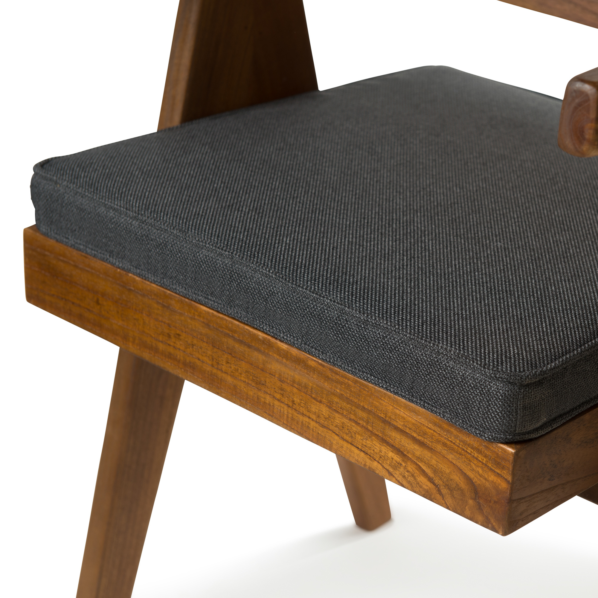 Dining Chair Cushion - Antracite-1