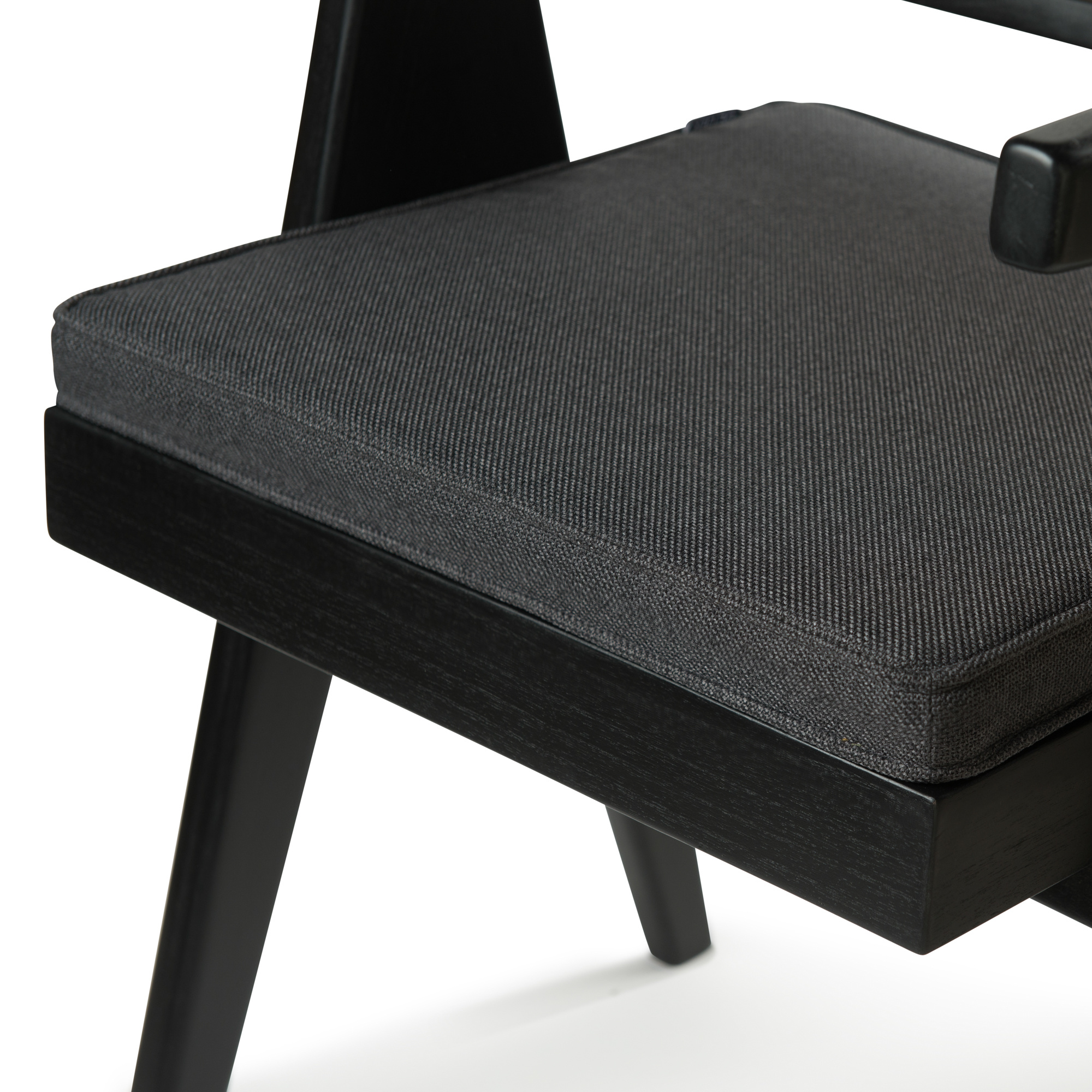 Dining Chair Cushion - Antracite-2