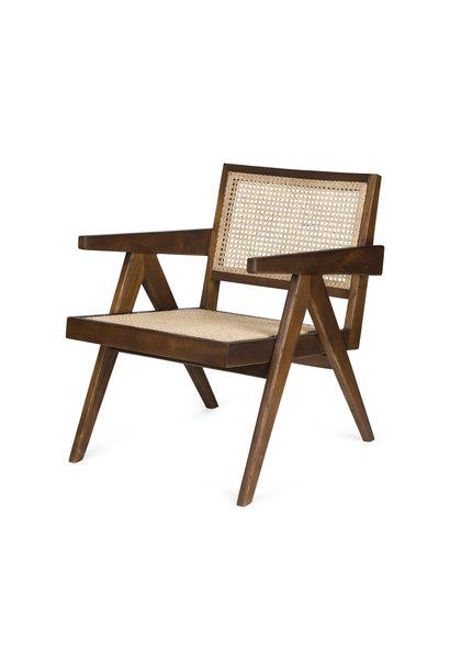 Easy Lounge Chair - Verdunkeltes Teakholz