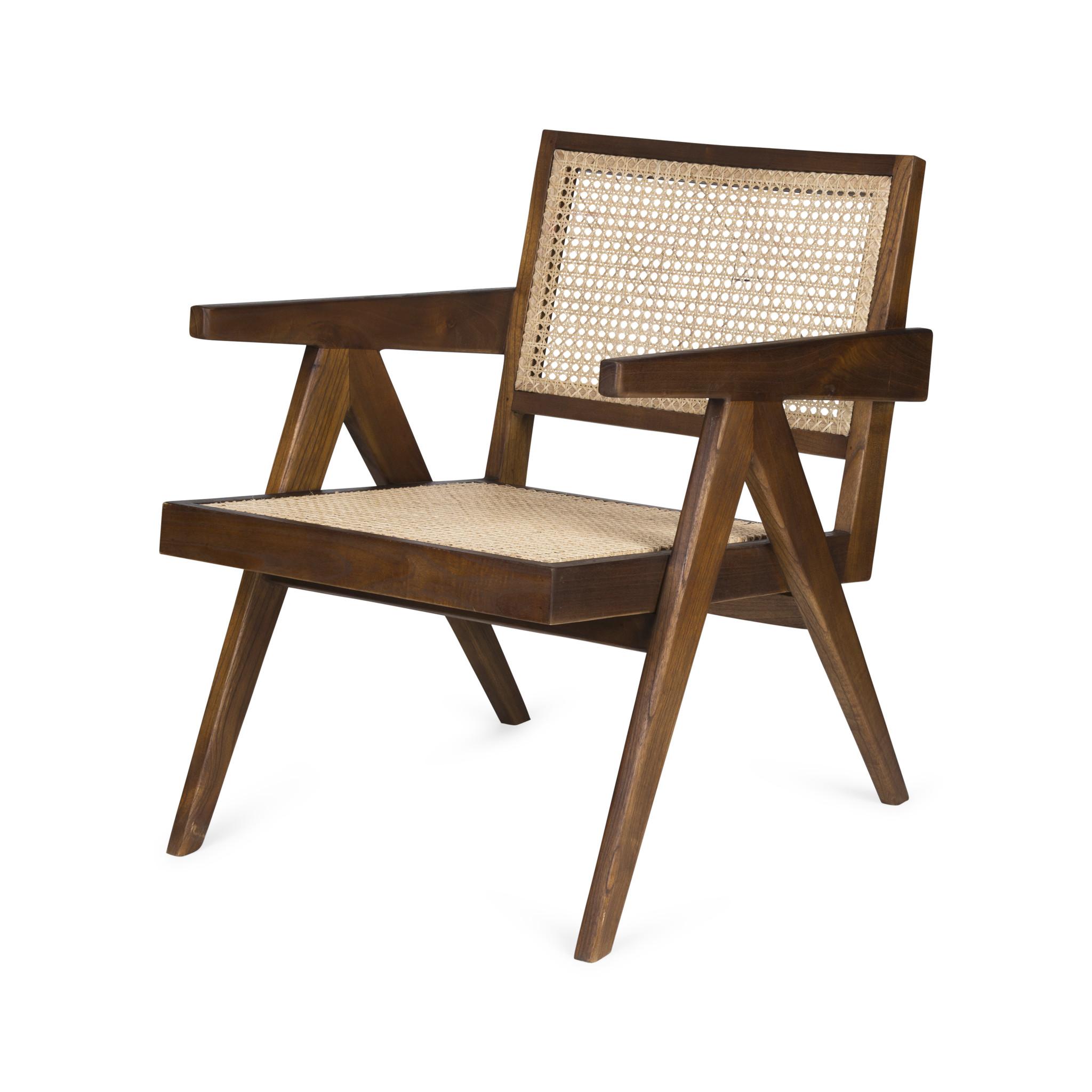 Easy Lounge Chair - Darkened Teak-1
