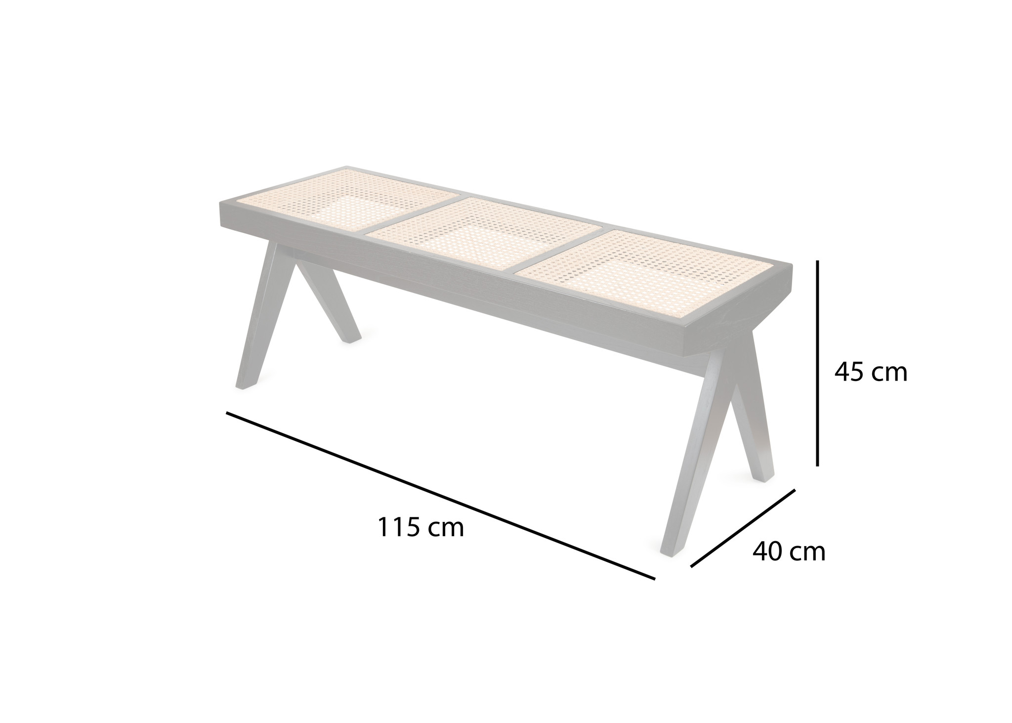 Bench / B.T.H. Flats 3 - Teak Outdoor-4