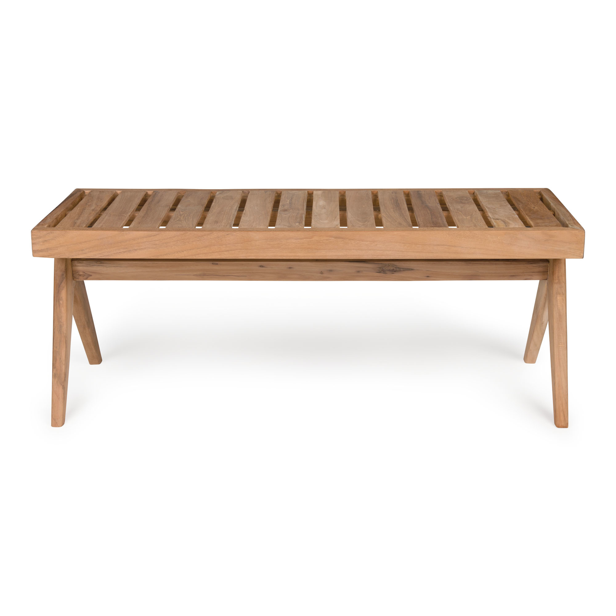 Bench / B.T.H. Flats 3 - Teak Outdoor-2