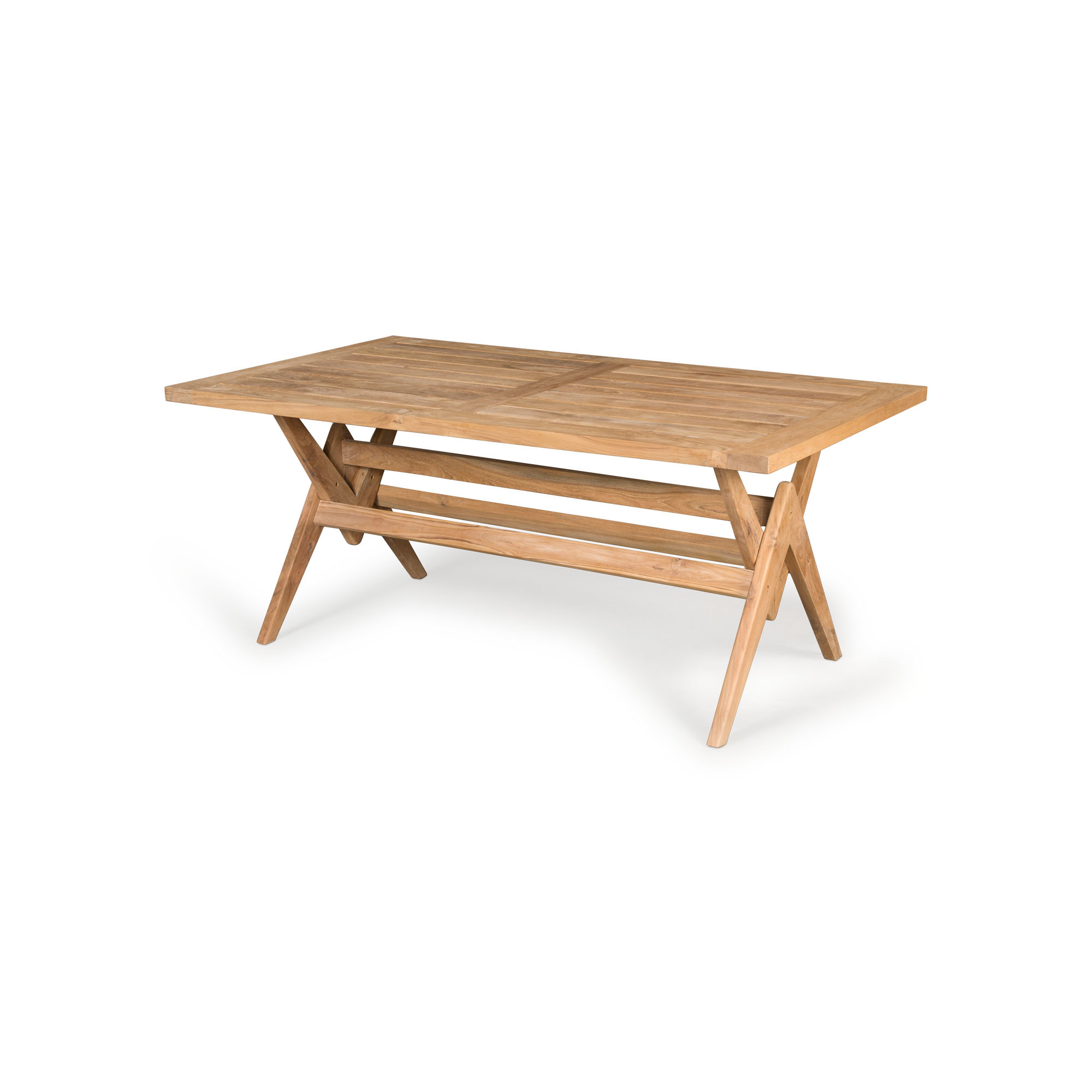 Dining Table W.T.H. 180 -  Teak Outdoor-1