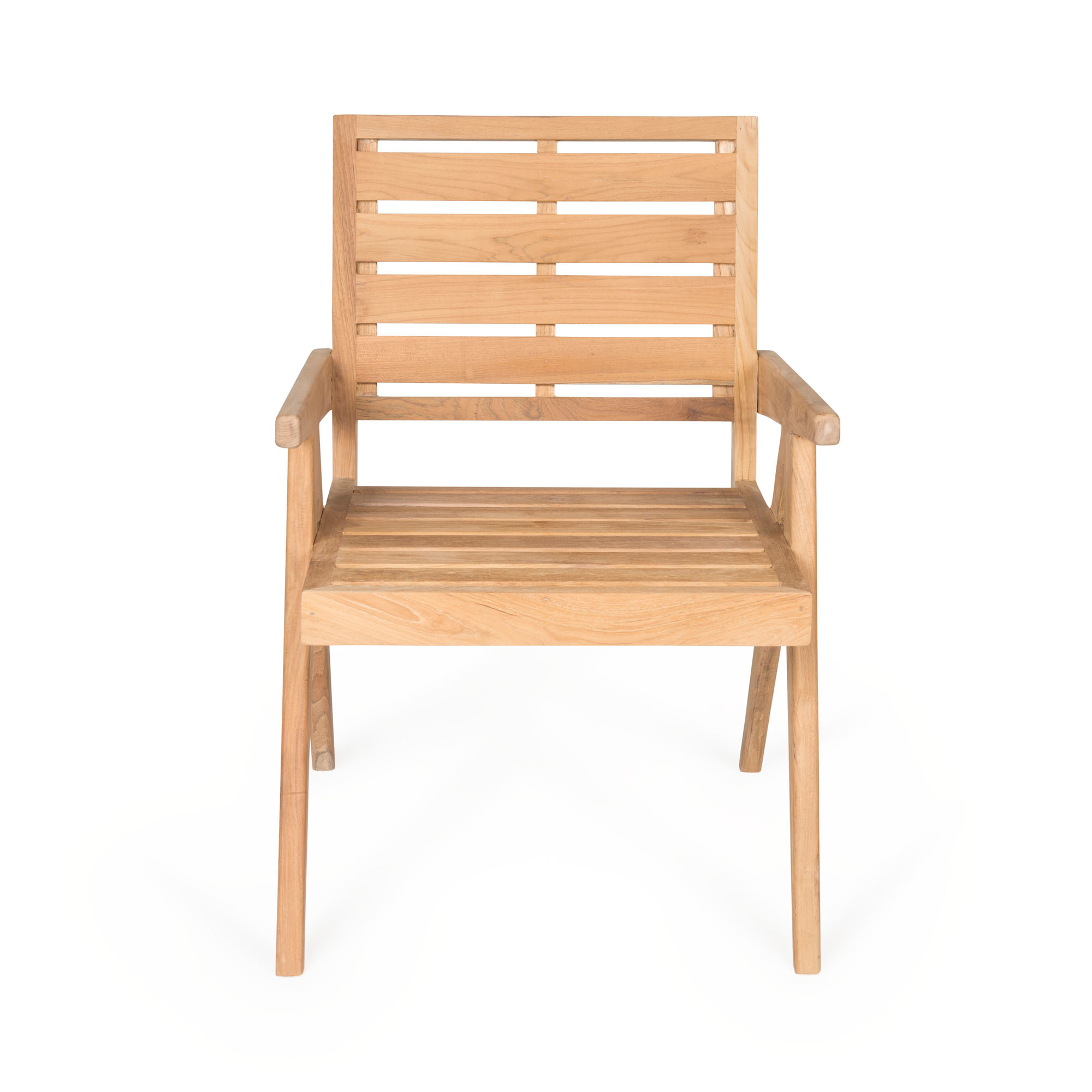 Dining Easy Lounge  Chair - Teak Outdoor-4