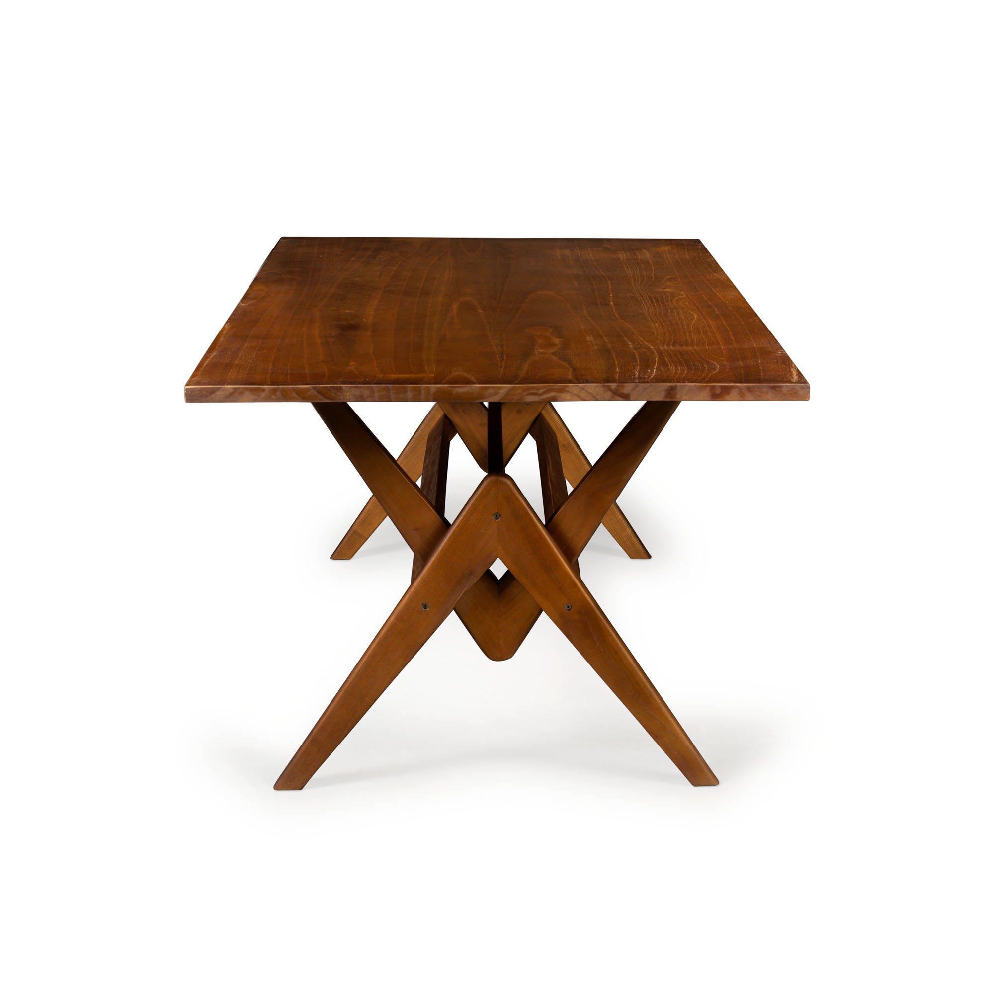 Dining Table W.T.H. 180 -  Darkened Teak-1