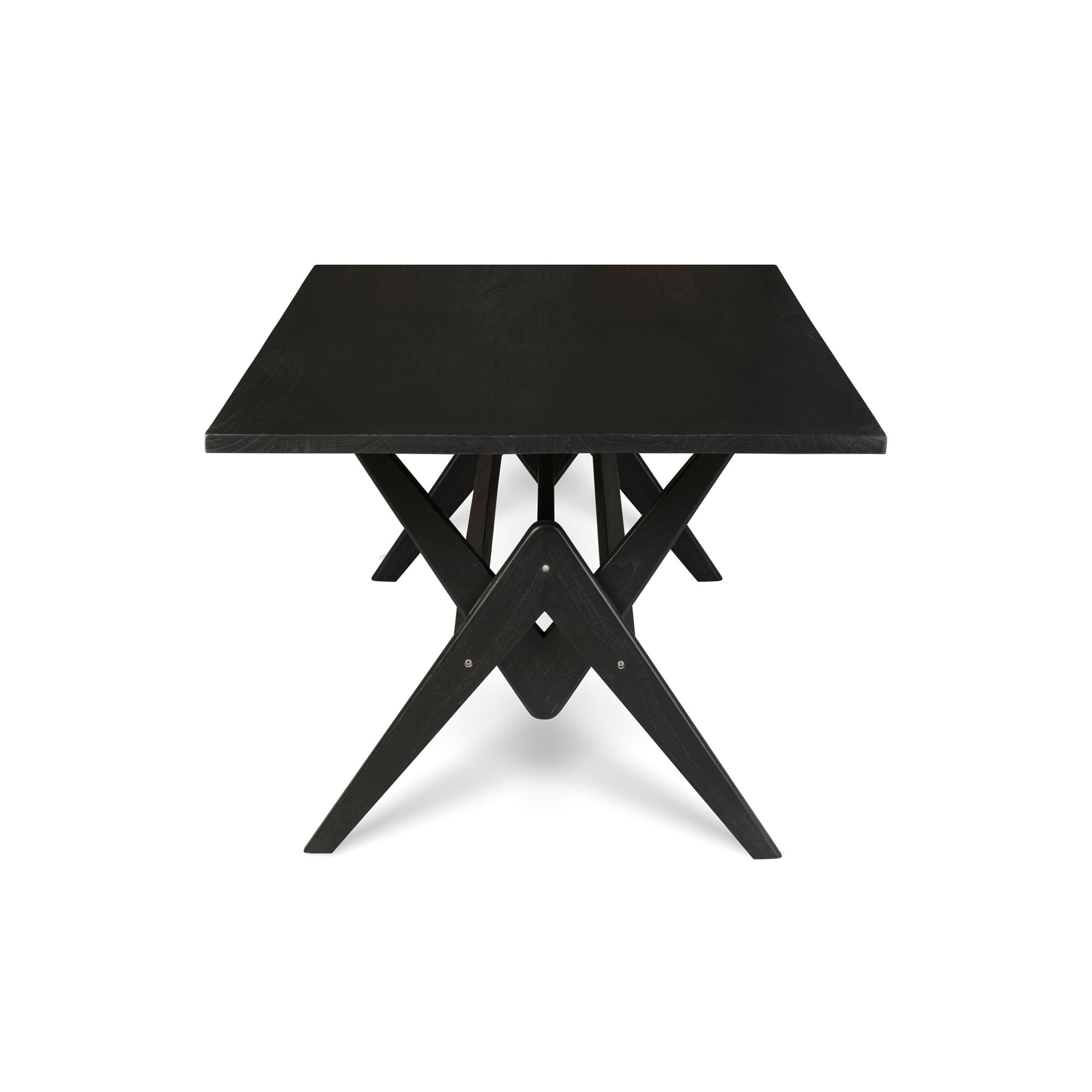 Dining Table W.T.H. 180 -  Charcoal Black-1