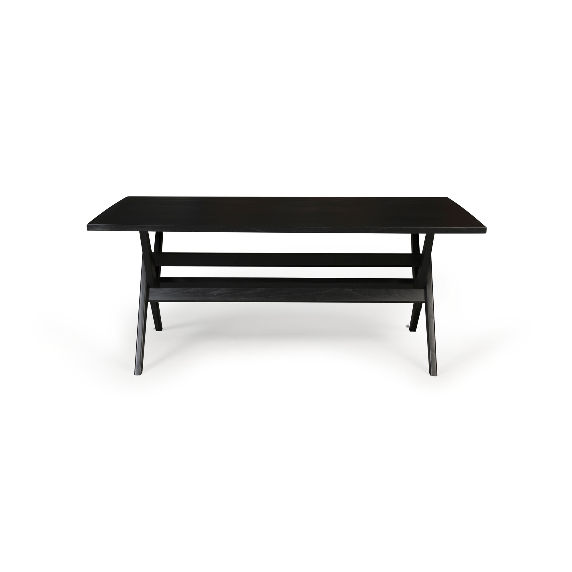 Dining Table W.T.H. 180 -  Charcoal Black-3