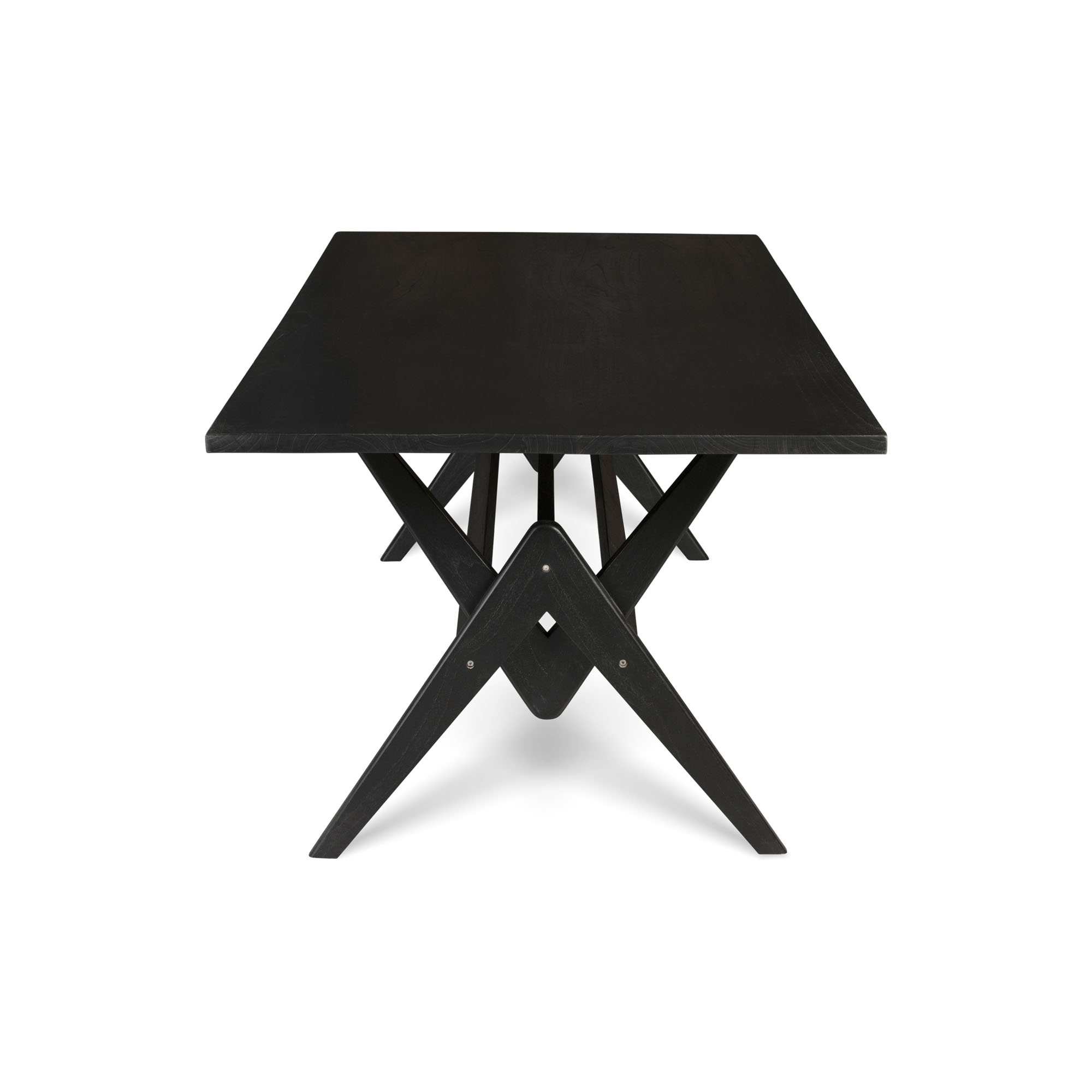 Dining Table W.T.H. 220 - Charcoal Black-1