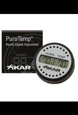 Xikar Xikar Puro Temp/Hygrometer, Geen kalibratie nodig!