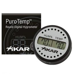 Xikar Xikar Puro Temp/Hygrometer Rond