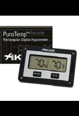 Xikar Xikar Puro Temp/Hygrometer, No calibration needed, guaranteed accuracy of +/- 2%