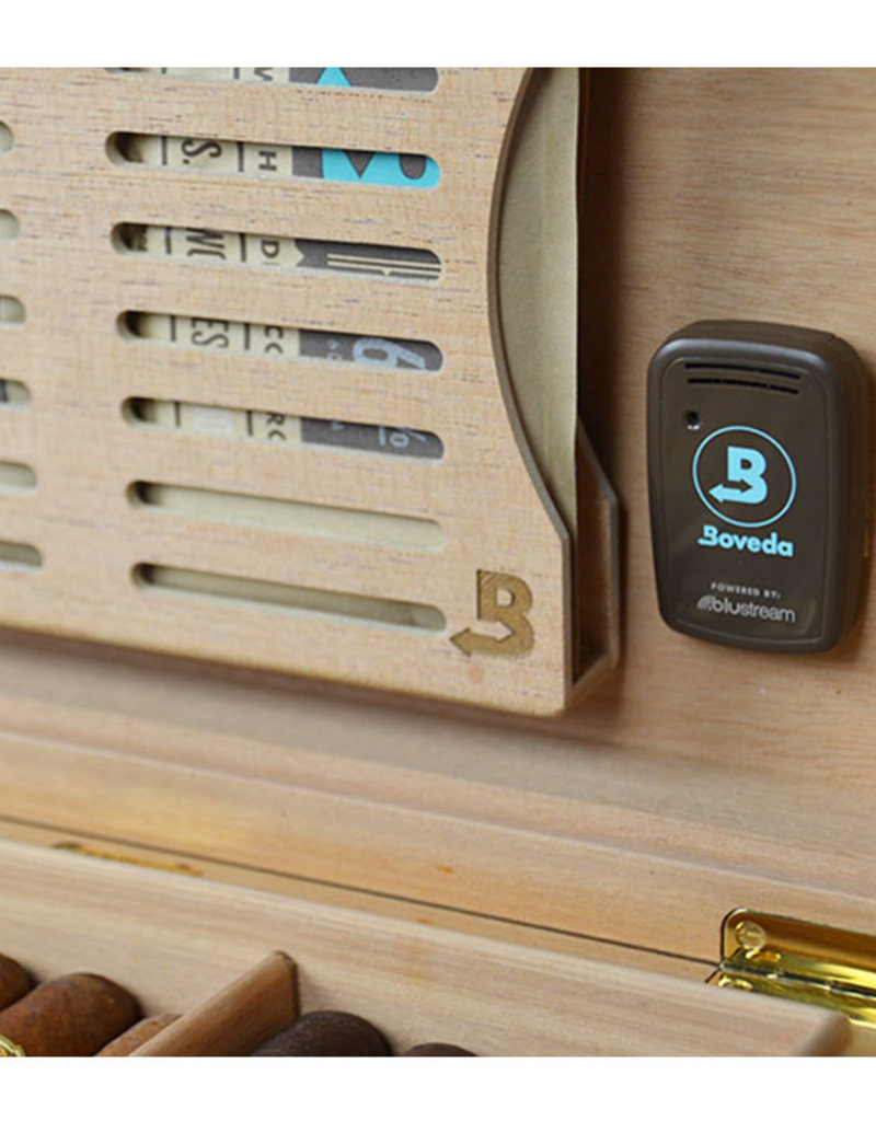 Boveda  Monitor the humidity in your humidor on your smartphone