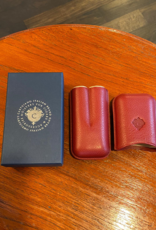 Cartujano Cigar case leather Bordeaux