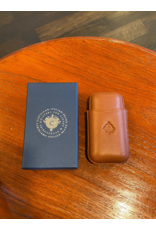 Cartujano Cigar case leather light brown
